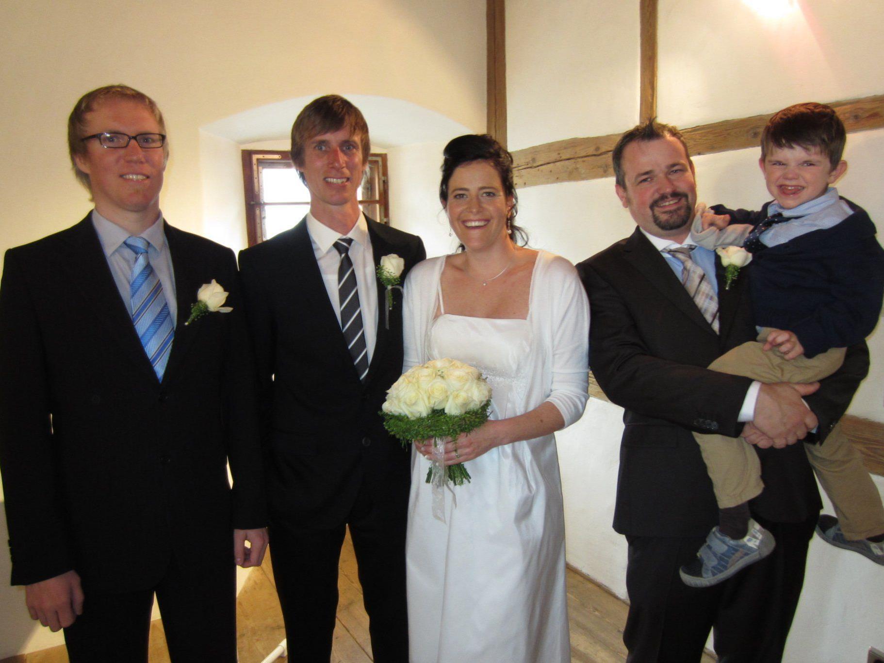 Rebecca Anaya und Alexander Bolter haben geheiratet.