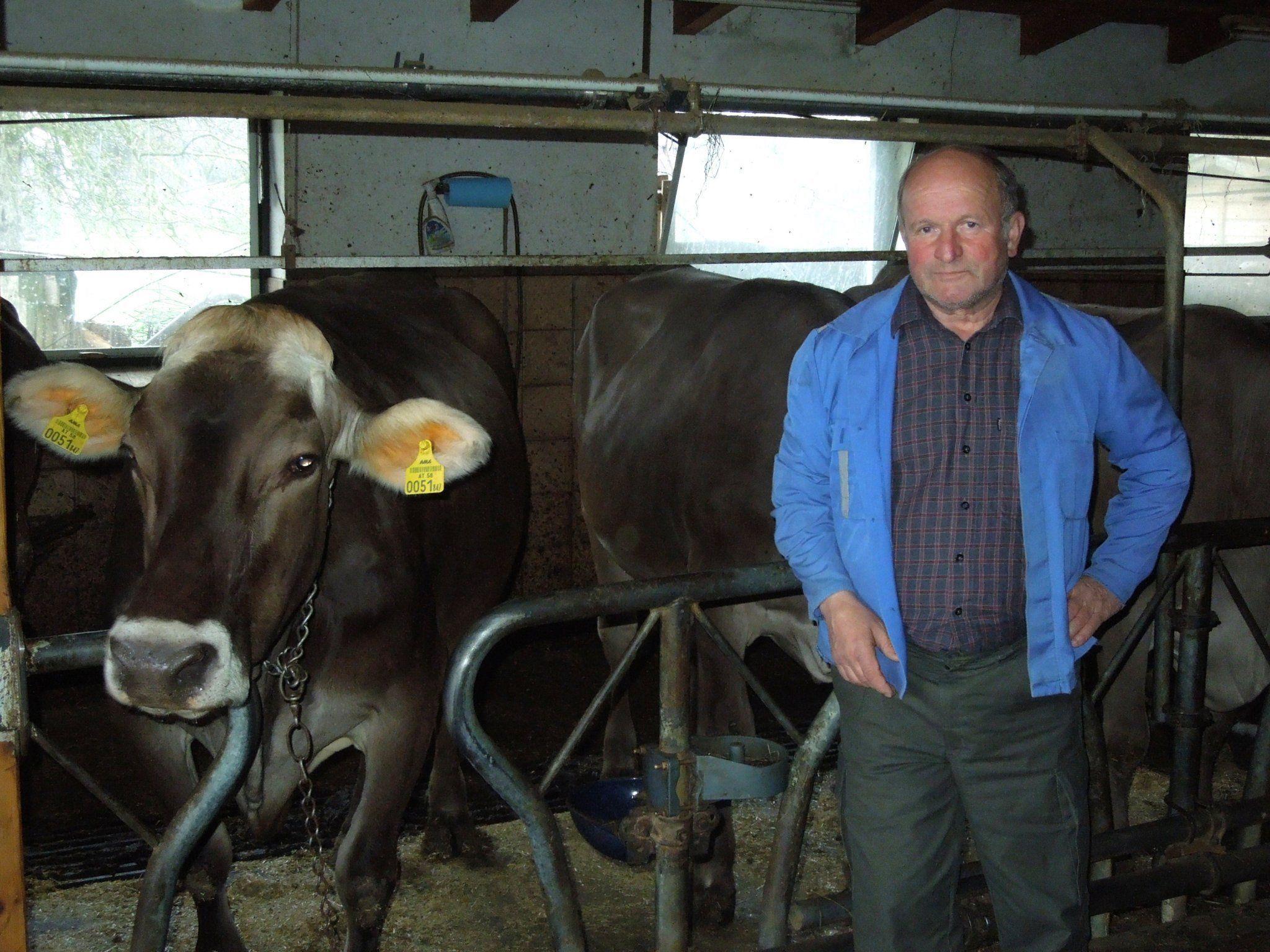 Walter Kremmel ist aus Überzeugung Landwirt und Viehzüchter.