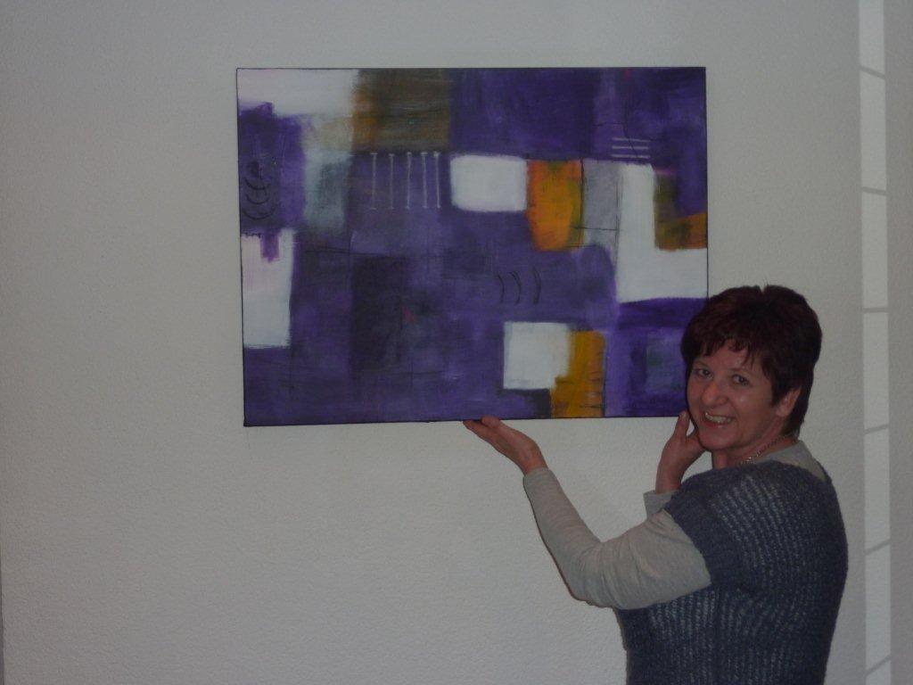 Herta Schlatter stellt im LKH Bregenz aus