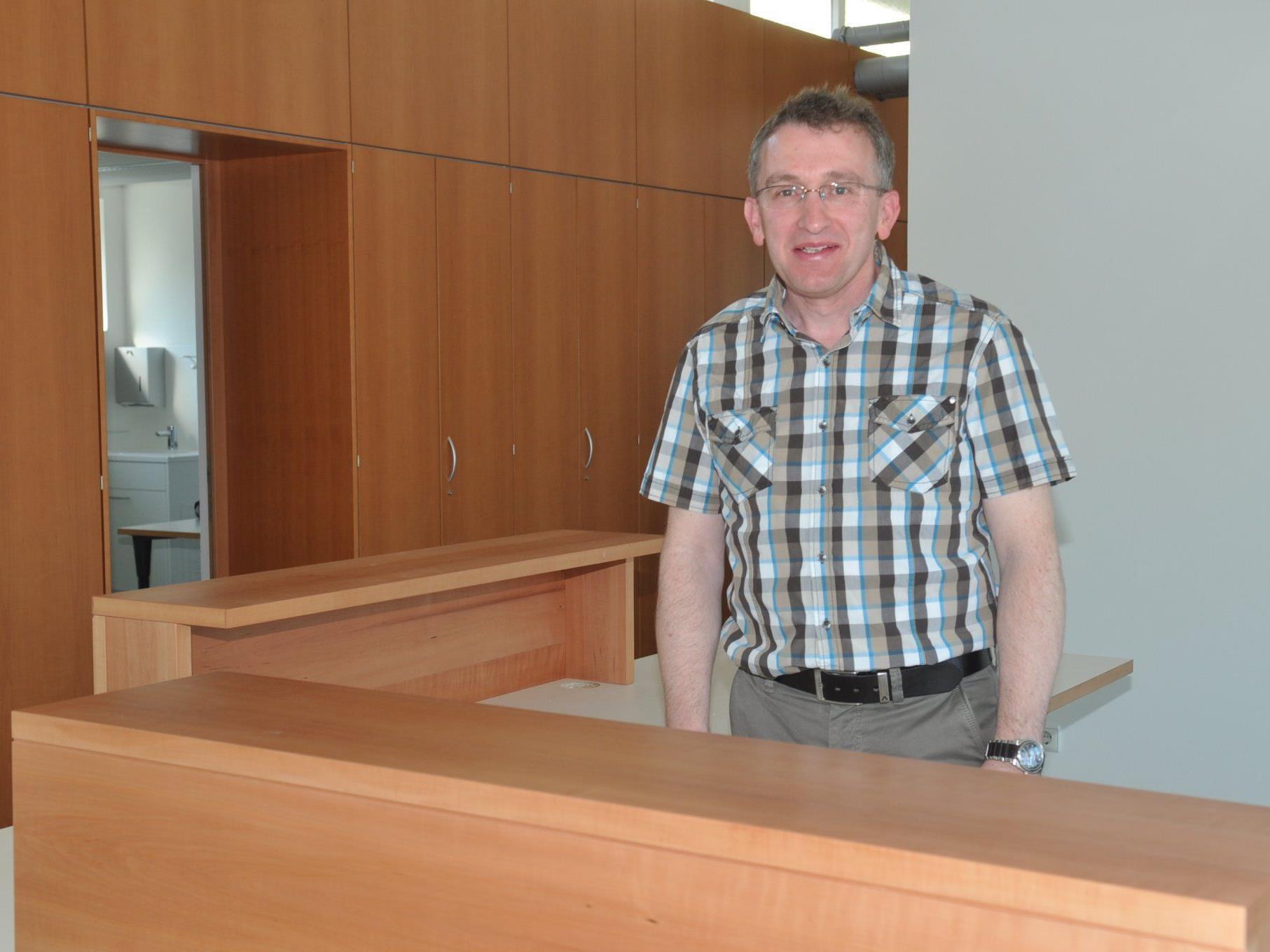 Dr. Werner Feuerstein aus Bludenz eröffnete seine neue Praxis in der ehemaligen Drogerie Jochum in Altach.