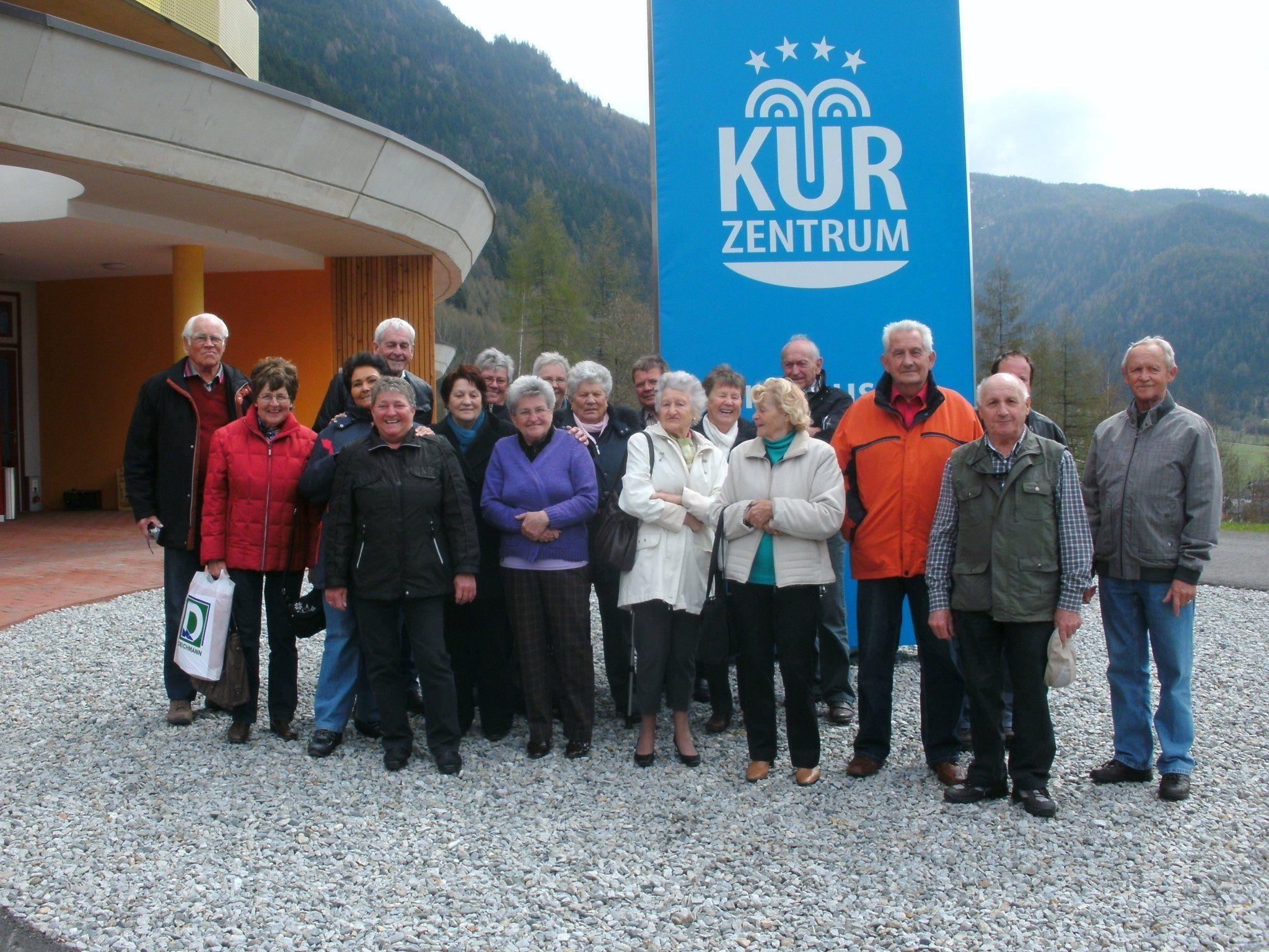 Thüringer Pensionisten auf Kur