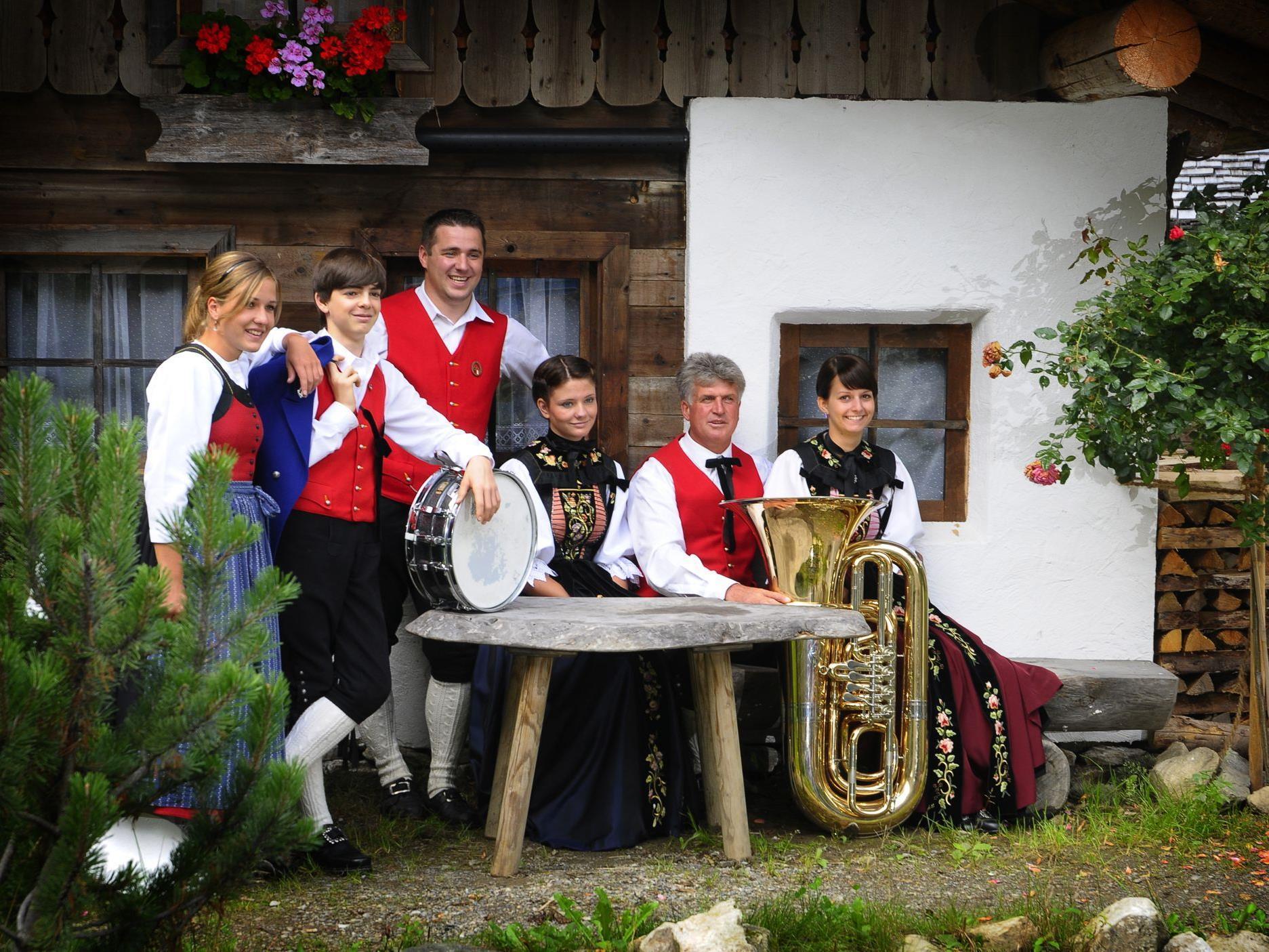Am kommenden Samstag findet das Frühjahrskonzert der Bürgermusik Silbertal statt.