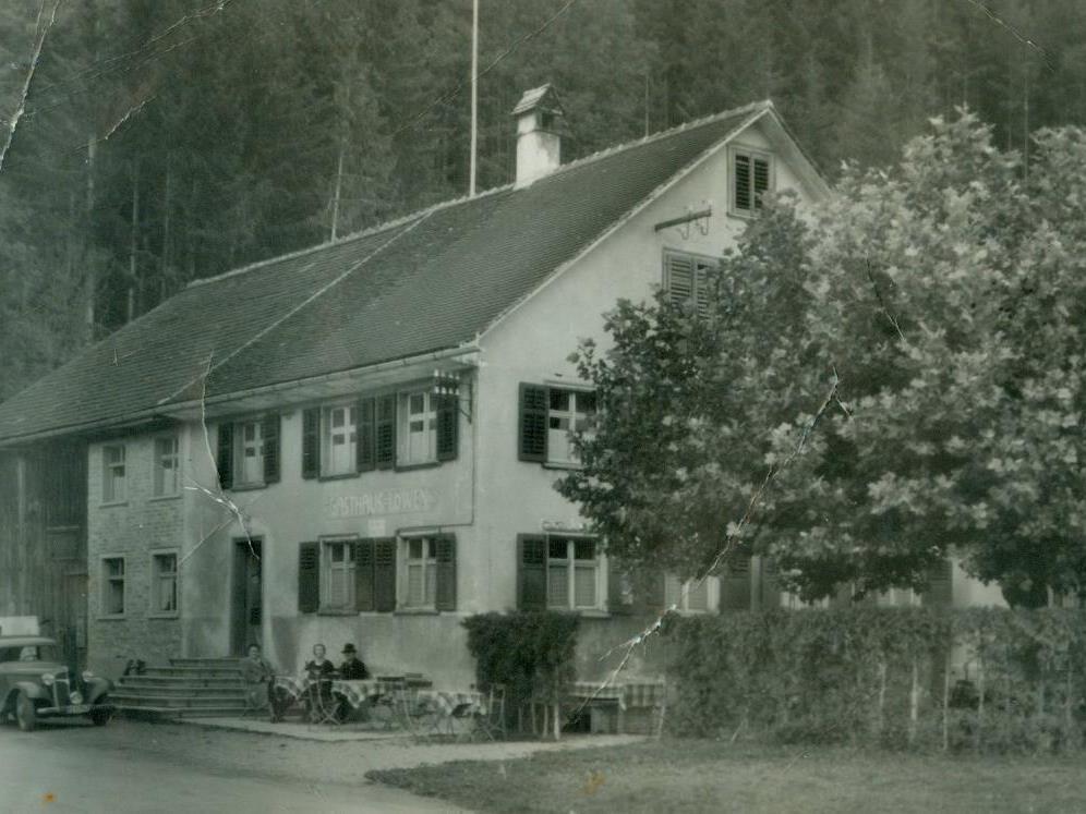 Der Gasthof Löwen in der Zeit vor dem Zweiten Weltkrieg