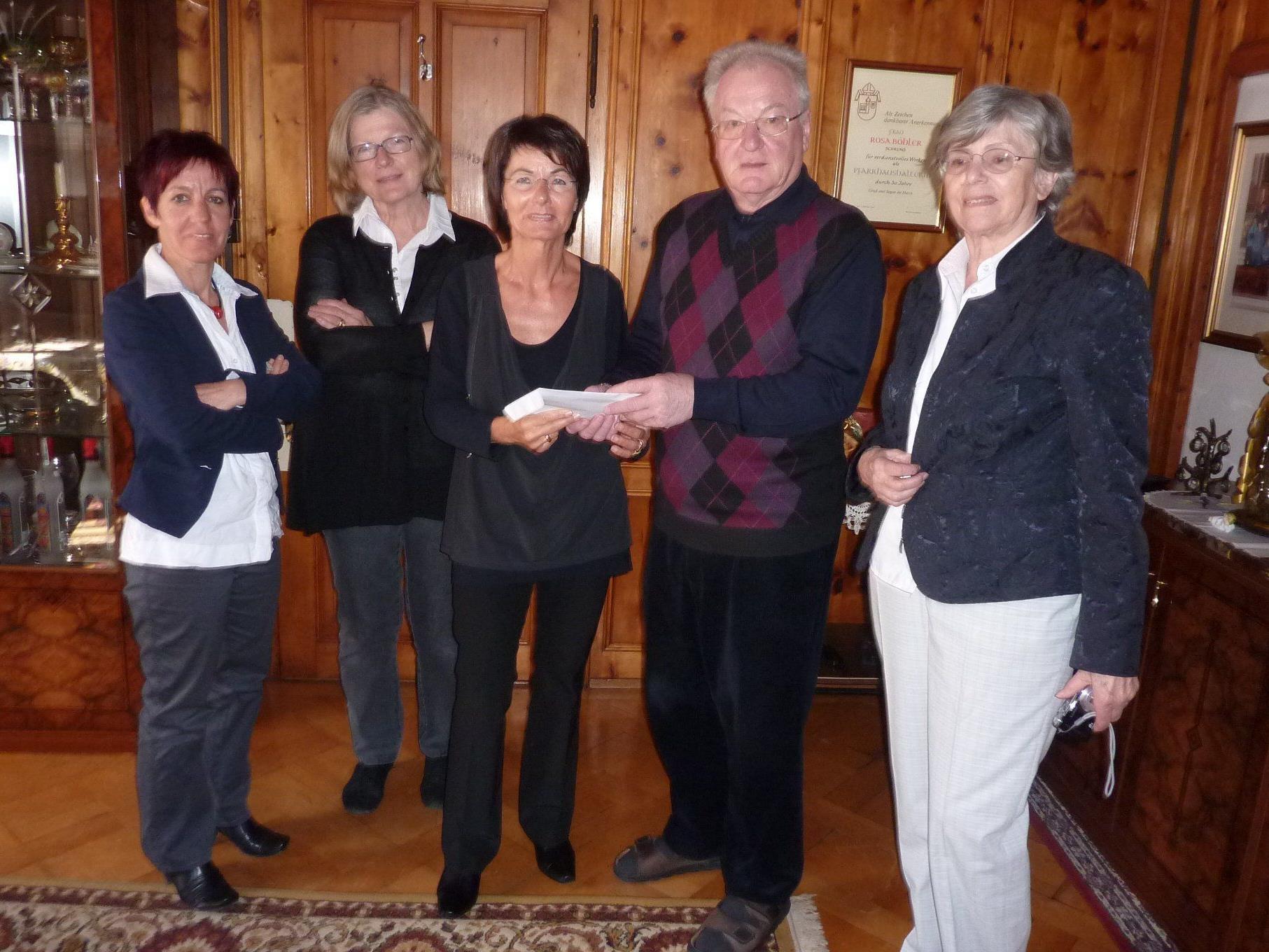 Dieses Jahr unterstützt die Pfarre und die Volksschule Schruns die Katastrophenhilfe Österreichischer Frauen.