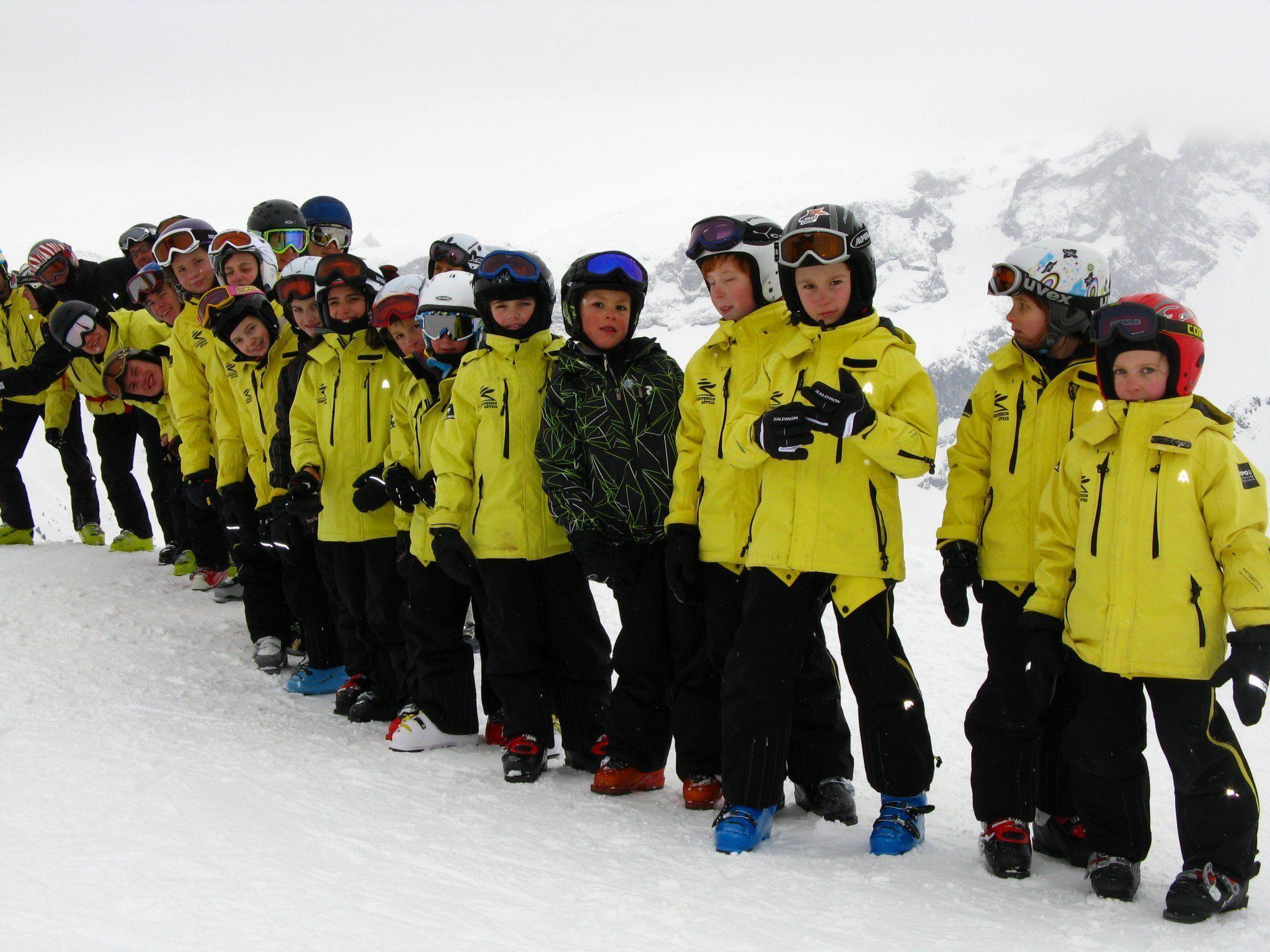 Eine tolle Trainingssaison mit traumhaften Schneeverhältnissen erlebte das Nachwuchsteam heuer
