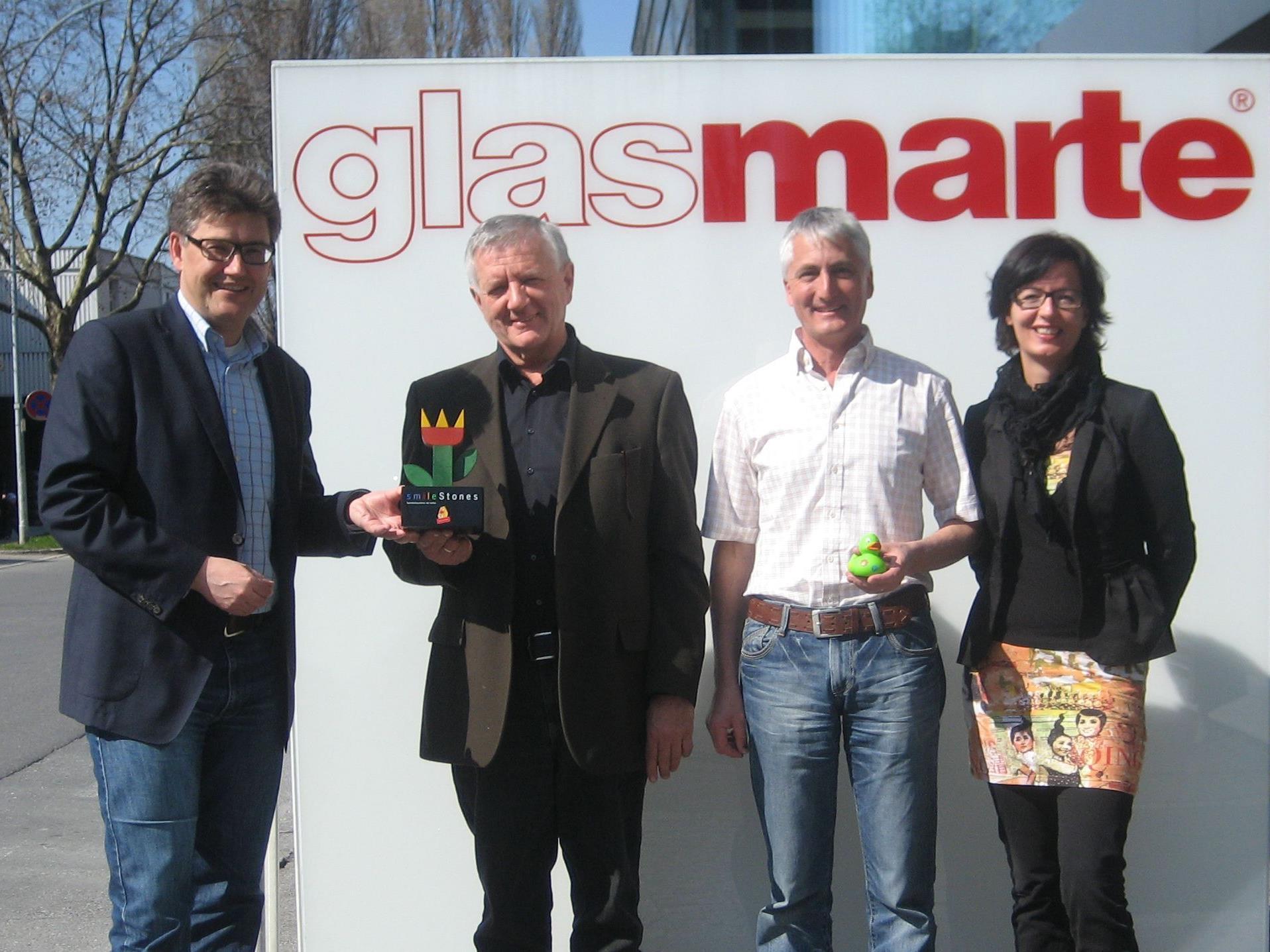 vlnr: Martin Feigl, Franz Abbrederis, Günter Böhler, Conny Amann