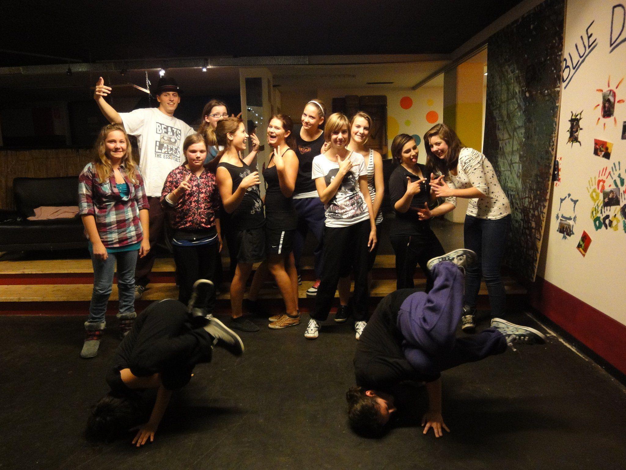 Hip Hop-Kurs für Mädchen in der Mittelschule Bludenz