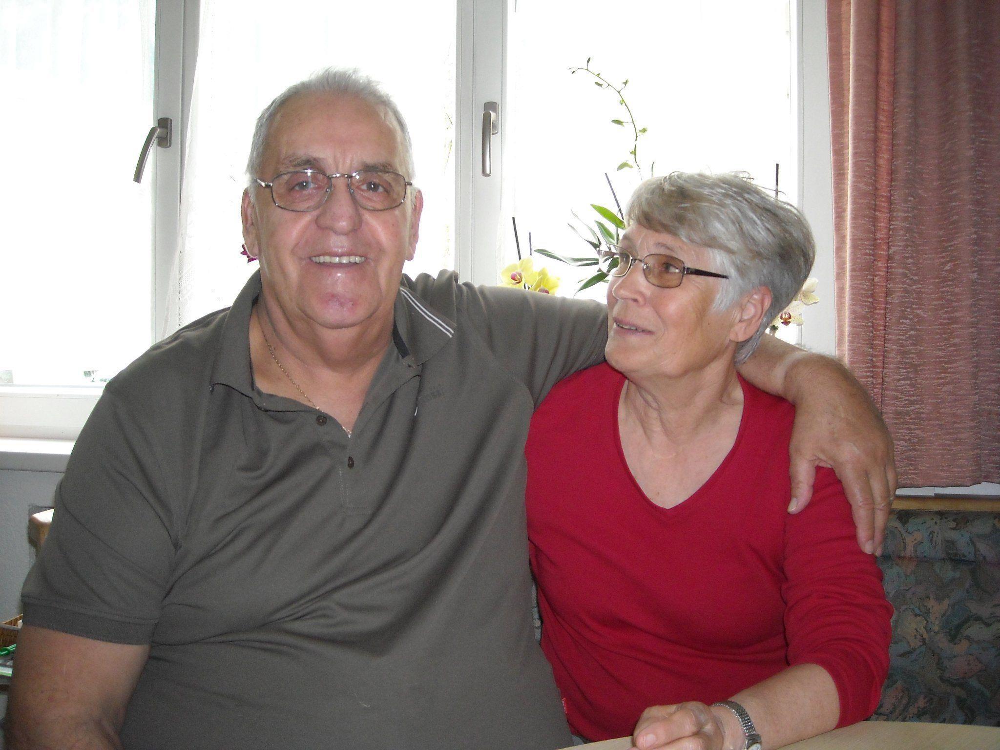 """""""Wir haben schöne Jahre miteinander erlebt"""", stellt das Paar an seinem 50. Hochzeitstag fest."""