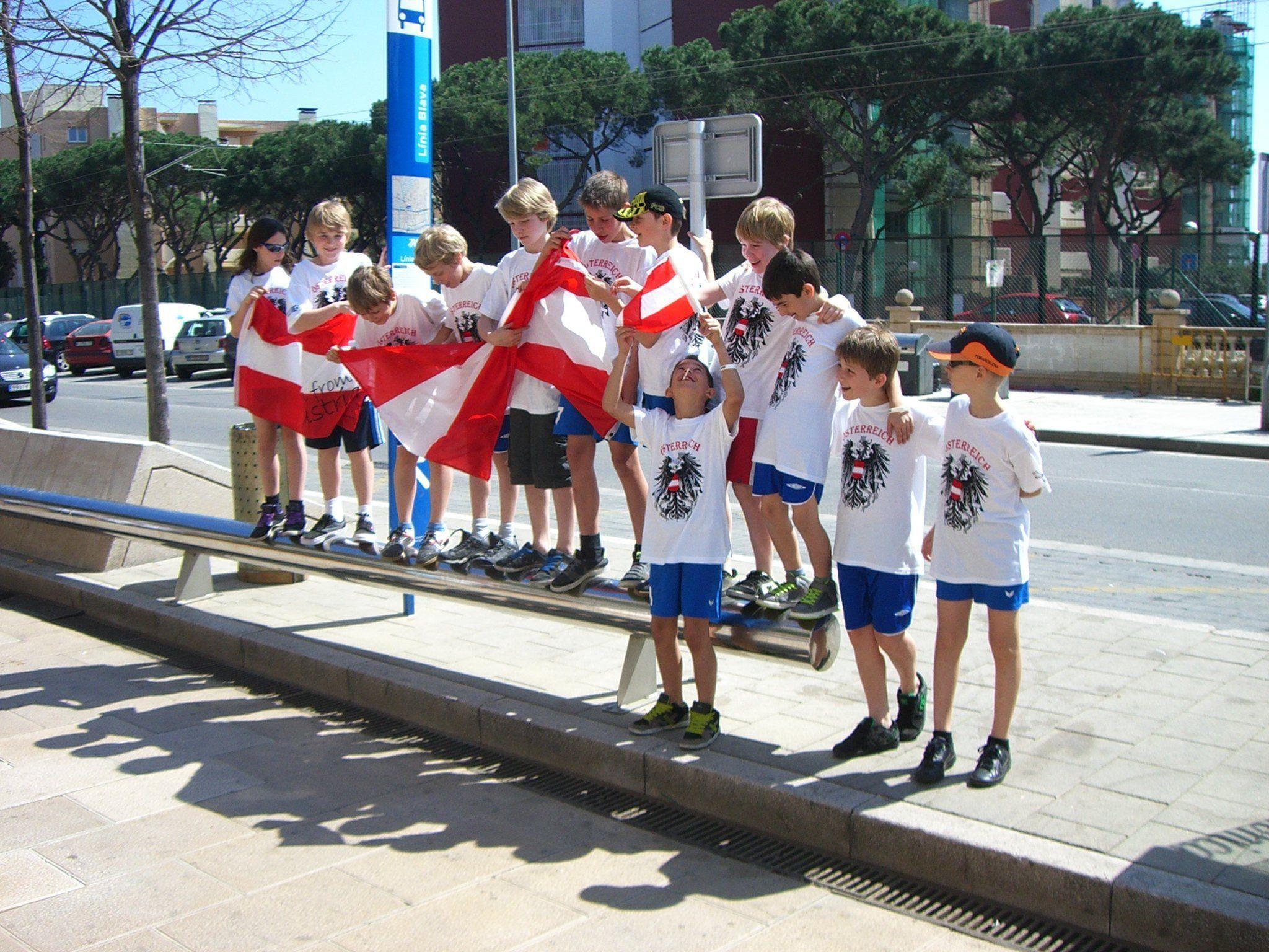 BW U11 Mannschaft in Spanien