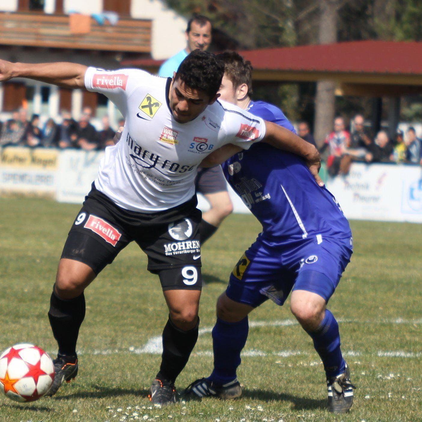 Vinicius Gomes Maciel schoss die Bregenzer Führung und wurde dann ausgeschlossen.