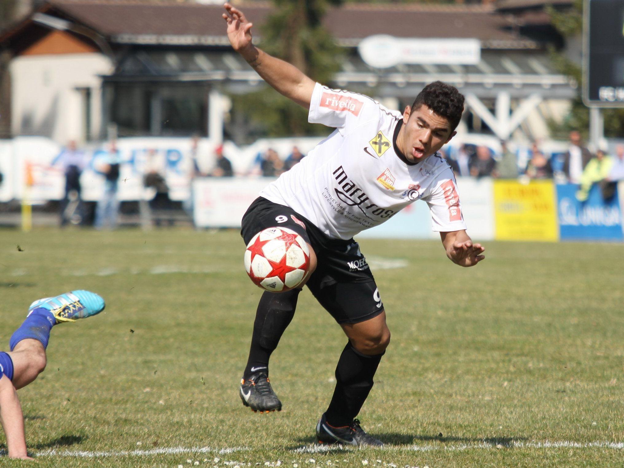 Neuer Torjäger bei Rivella SC Bregenz: Vinicius Gomes Maciel.