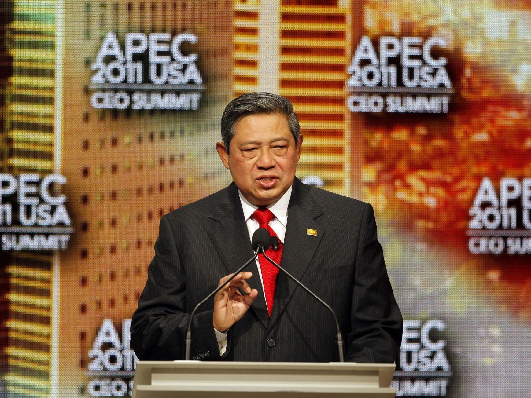 Indonesischer Präsident Susilo Bambang Yudhoyono: Keine Toten, kein Tsunami.