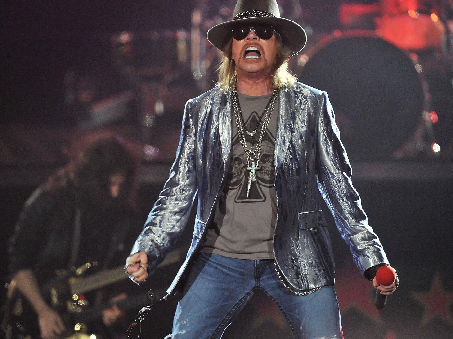 Kein gemeinsamer Auftritt der alten Hardrockband Guns N'Roses.