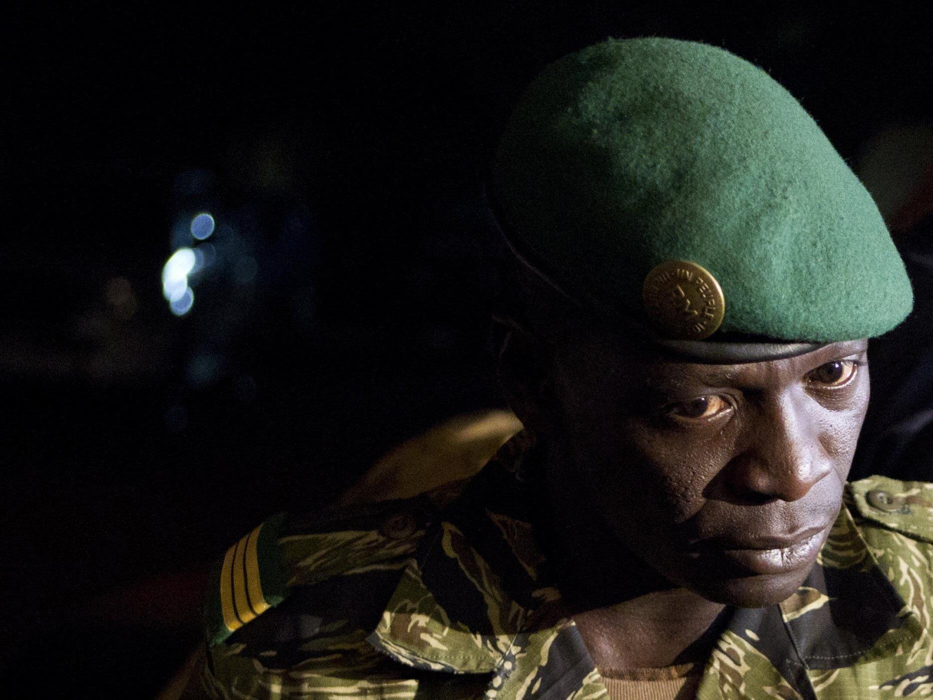 Junta-Leader Amadou Sanogo: Amnestie für Putschisten sowie Aufhebung der Sanktionen.