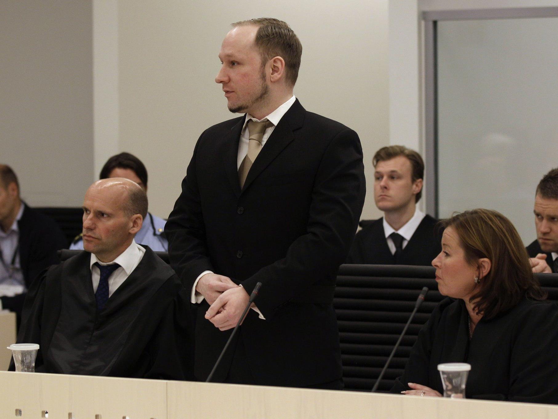 Eckdaten des Prozesses gegen den norwegischen Attentäter Anders Behring Breivik.