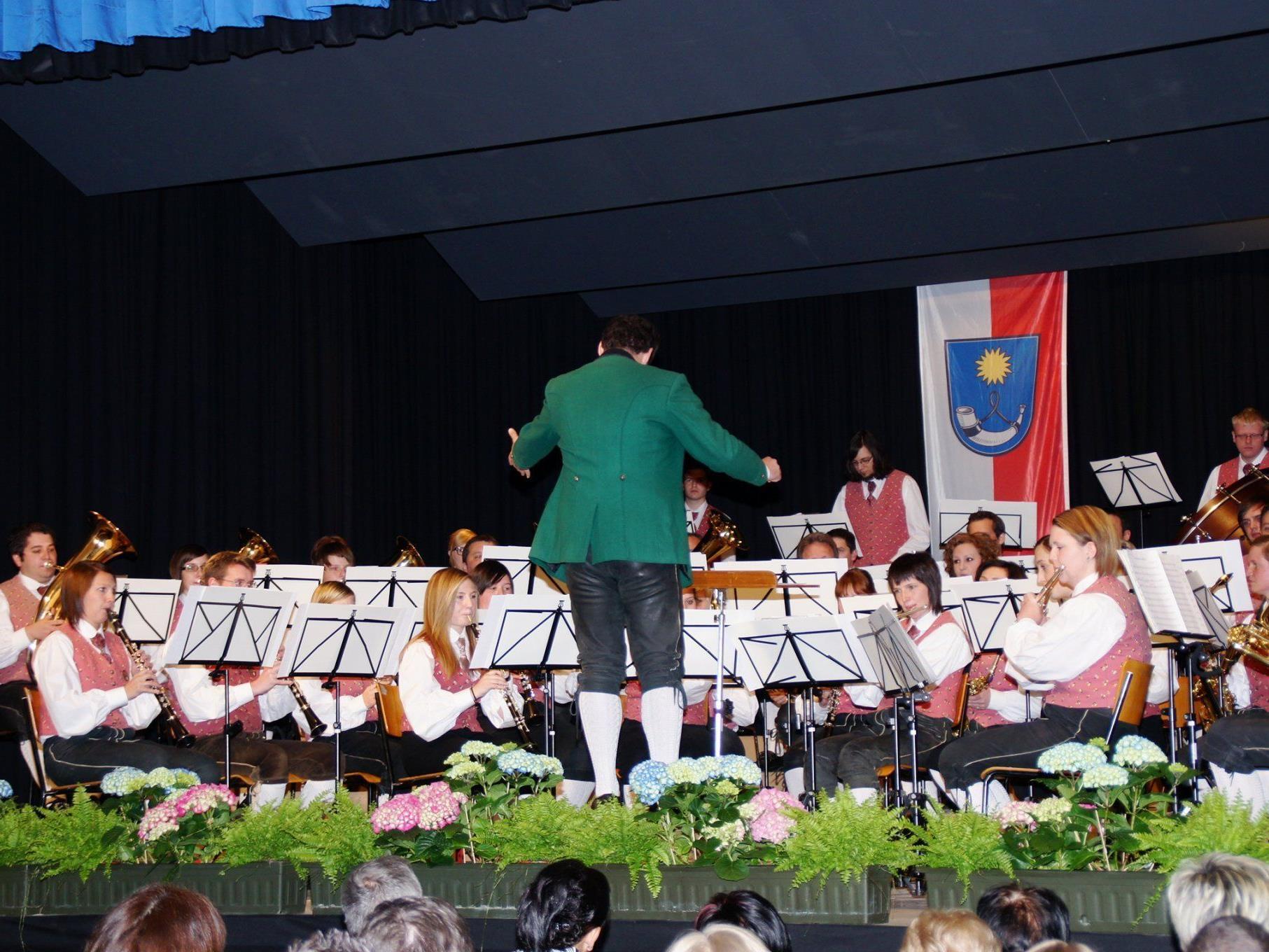 Der Musikverein Frastanz begeisterte mit einem abwechslungsreichen Konzertprogramm.