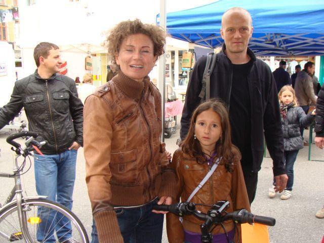 Klein und Groß wurden beim Fahrradmarkt fündig