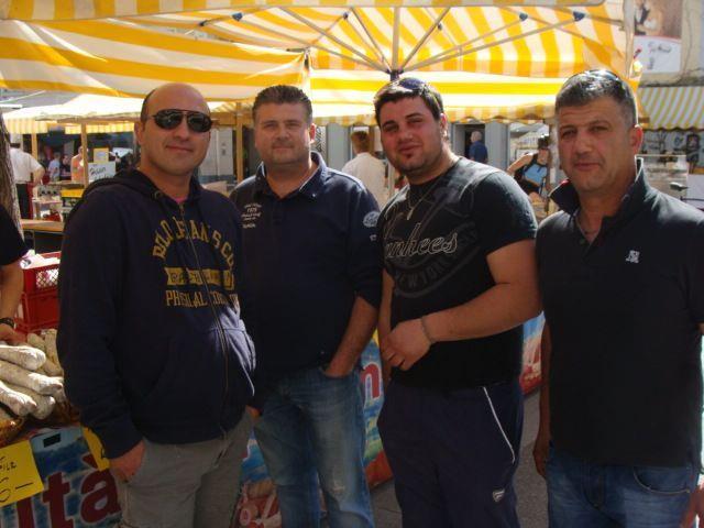 Italienische Händler brachten südländisches Flair in die Innenstadt