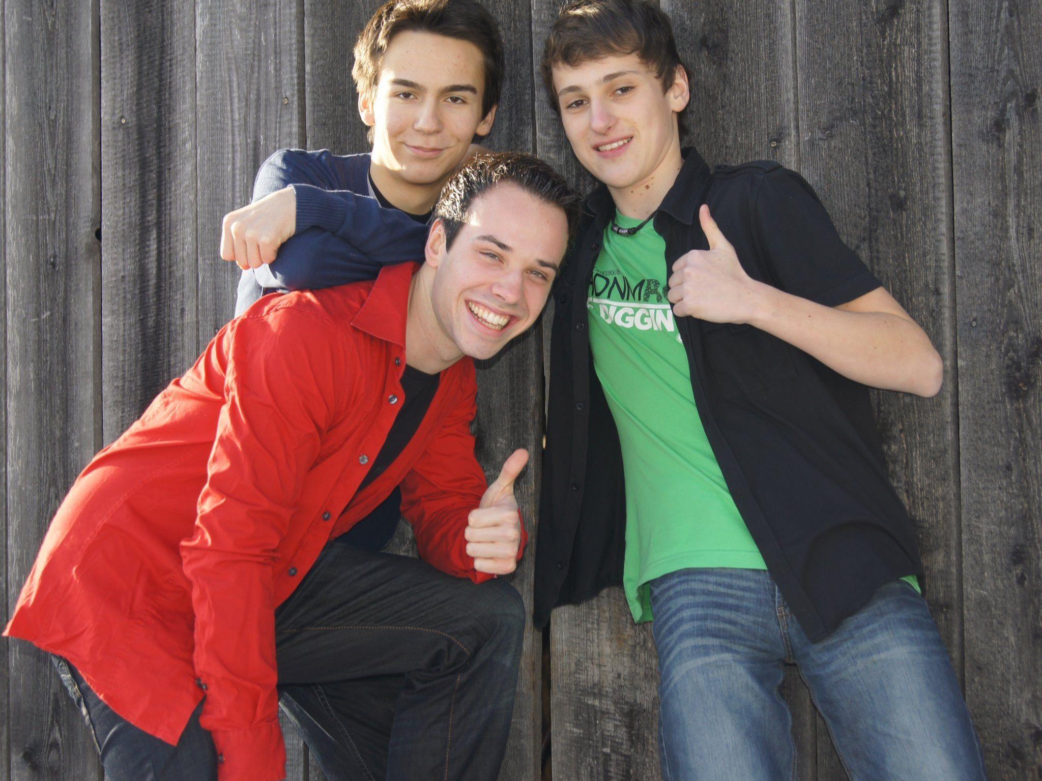 Dominik Klug, Florian Gsteu und Simon Wagner sind PDF!