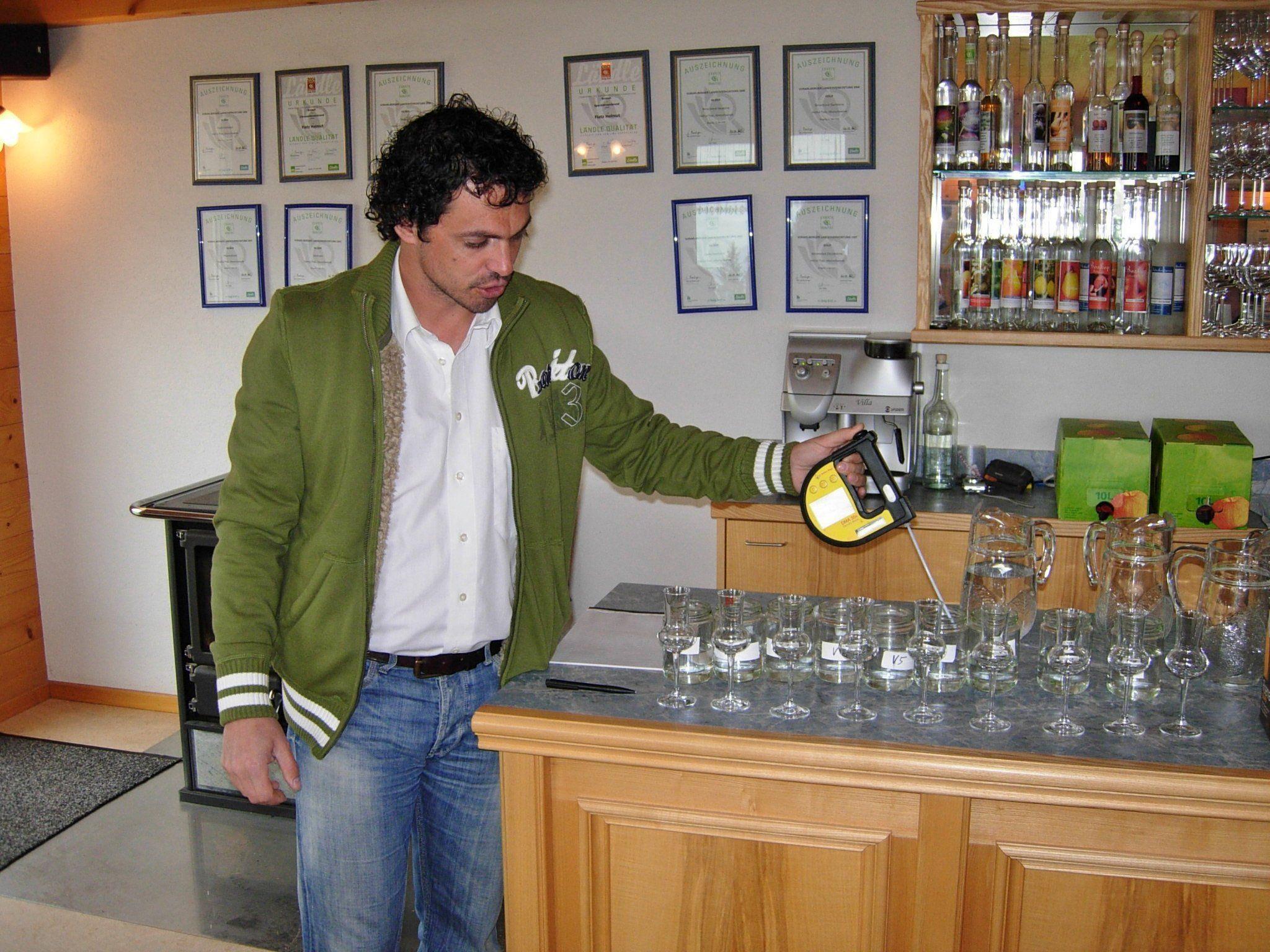 Kursleiter Ing. Georg Innerhofer aus der Steiermark