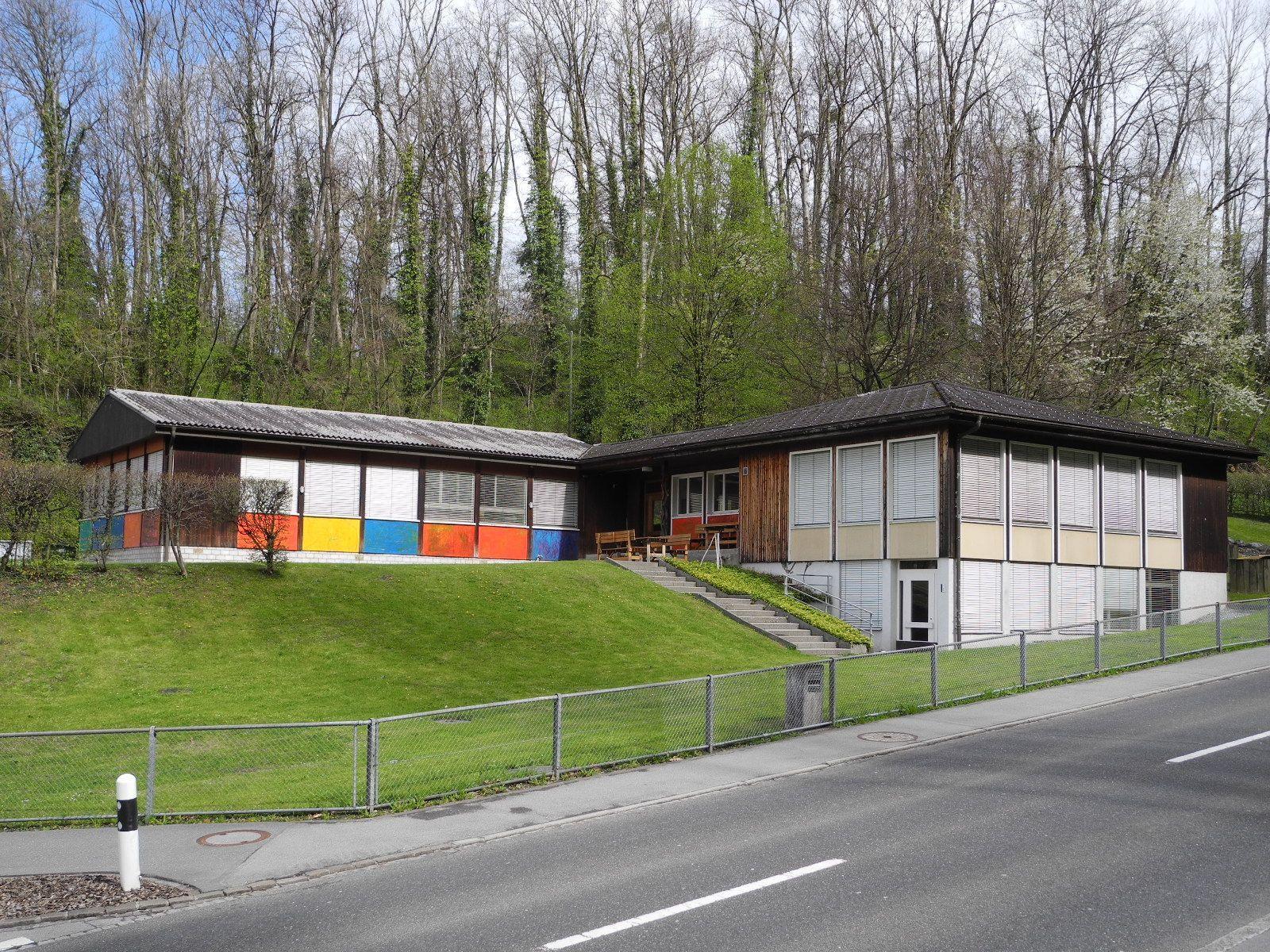 Das neue Domizil der Time-out Schule im ehemaligen Kindergarten in Gamprin
