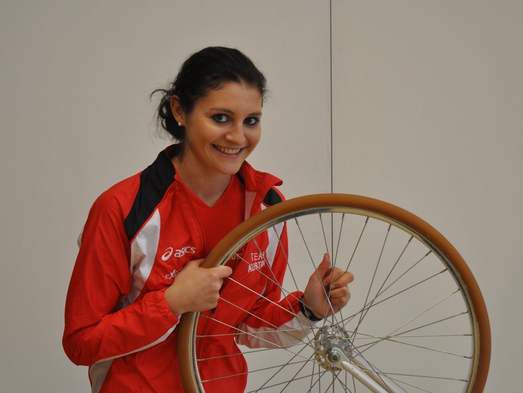 Erzielte in Höchst neuen Junioren Weltrekord, Adriana MAthis aus Meiningen.