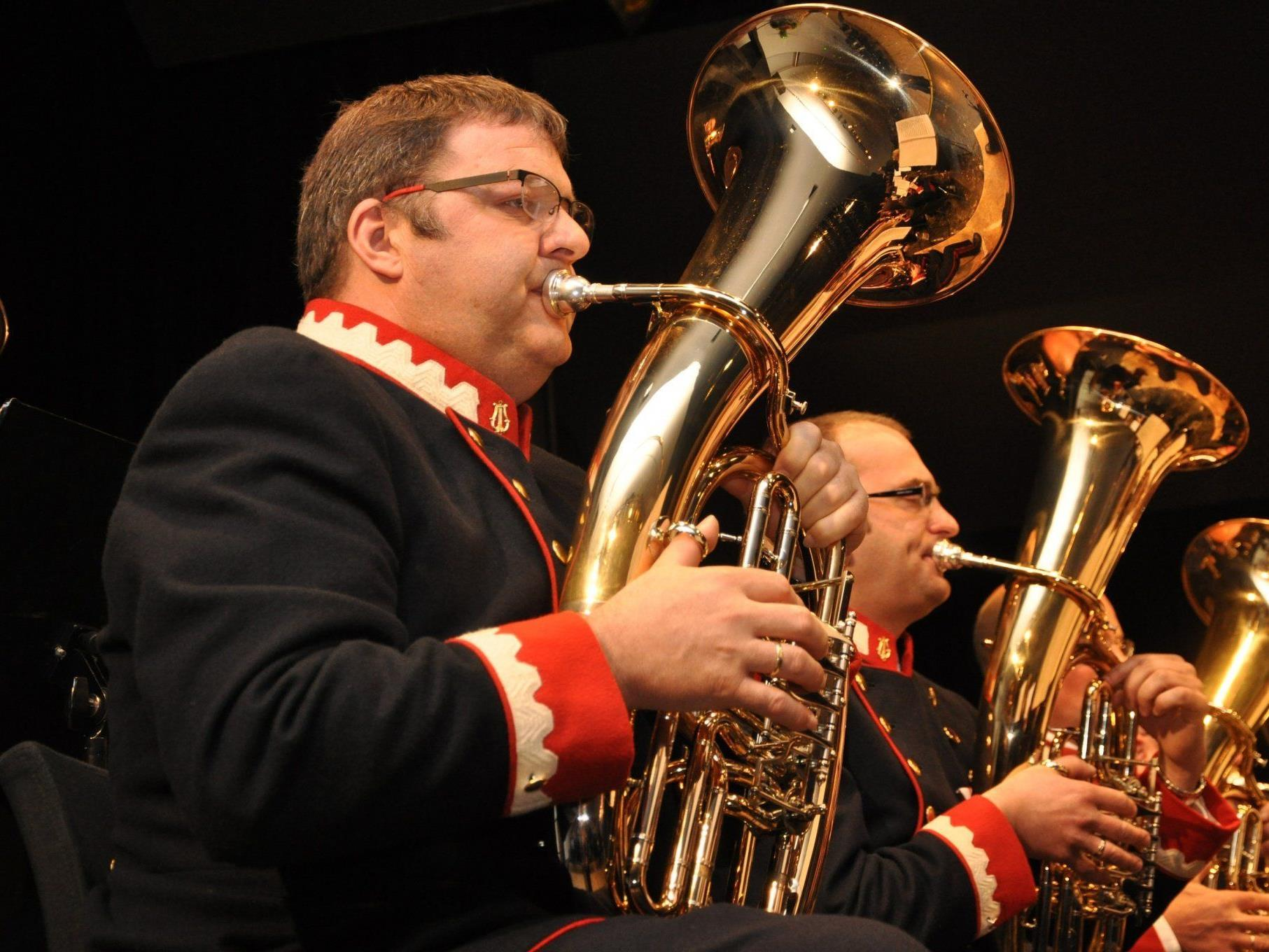 Das Jahreskonzert des Musikvereins Hörbranz ging mit 62 Musikerinnen und Musikern über die Bühne.