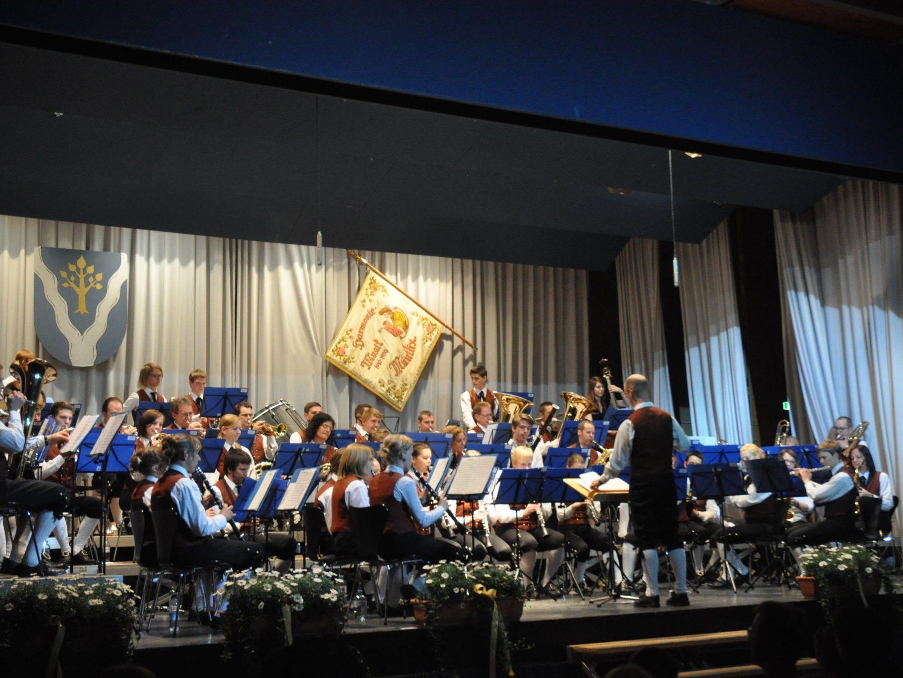 Boten ein begeisterndes Frühjahrskonzert Harmoniemusik Muntlix