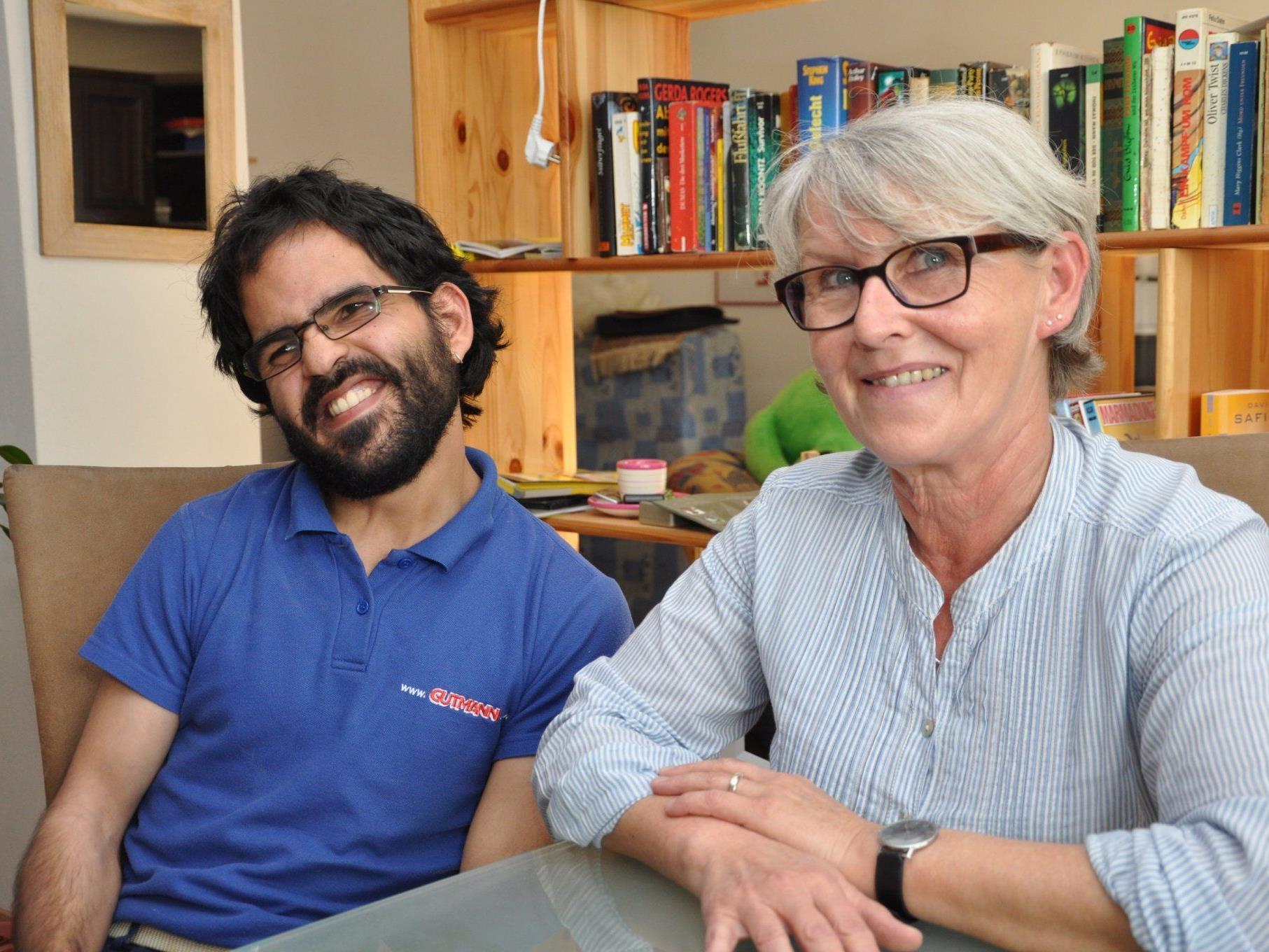 Marco Walch und seine Assistentin Ulli Rachbauer.