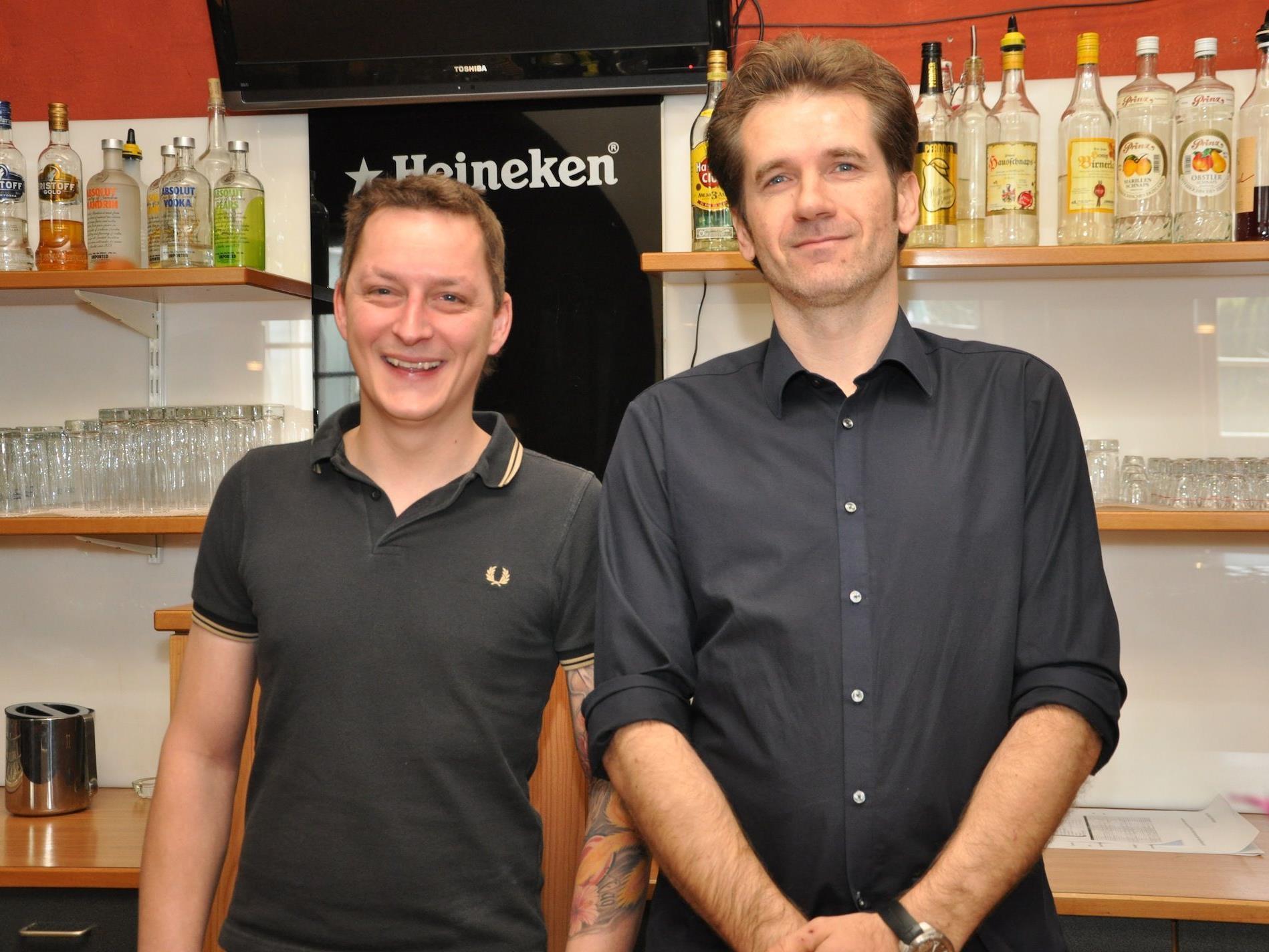 Martin Matt (l.) und Samuel Malang sind die neuen Pächter der Krone.
