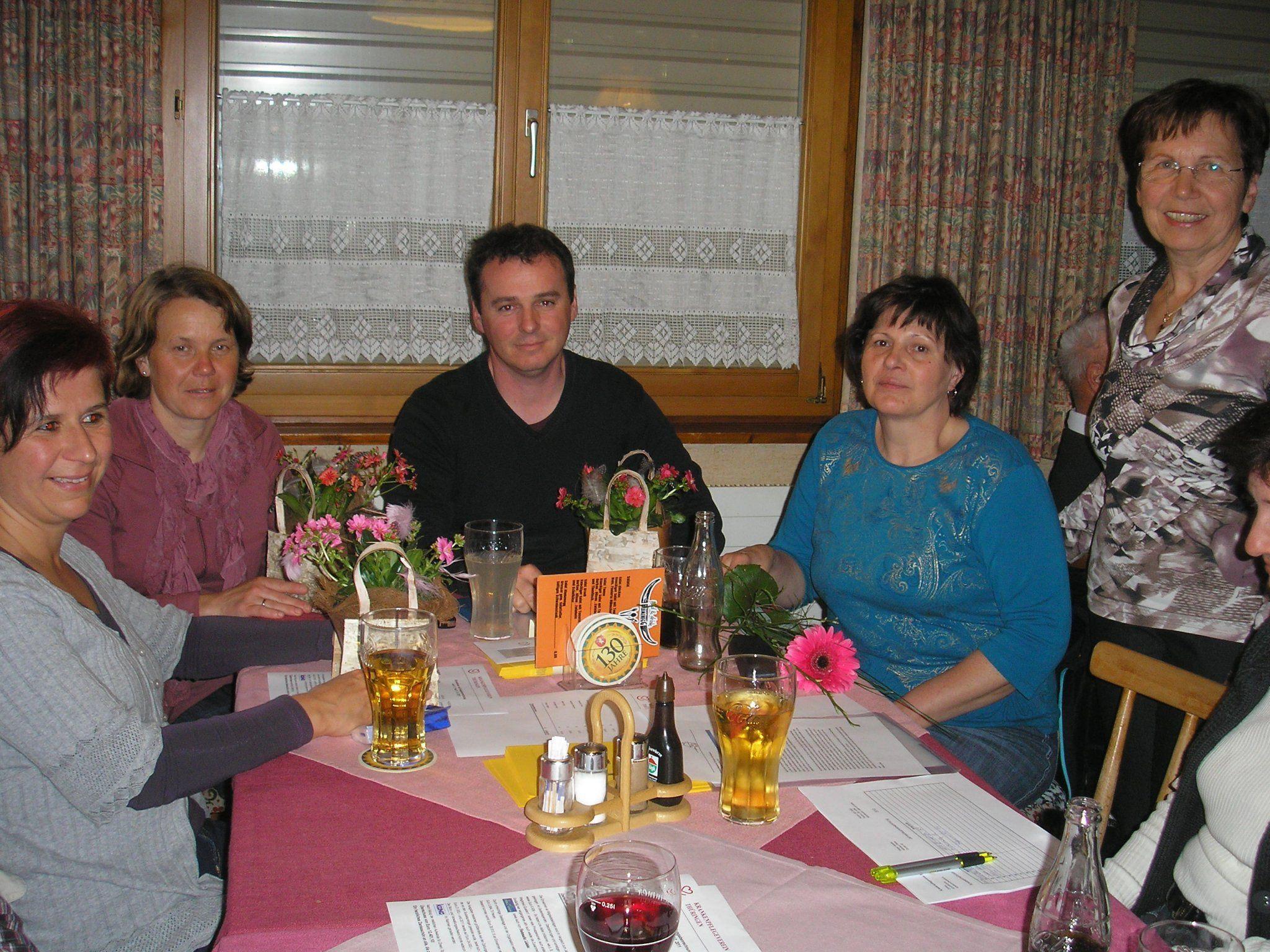 Ein Dank gebührt dem Pflegeteam des KPV Thüringen