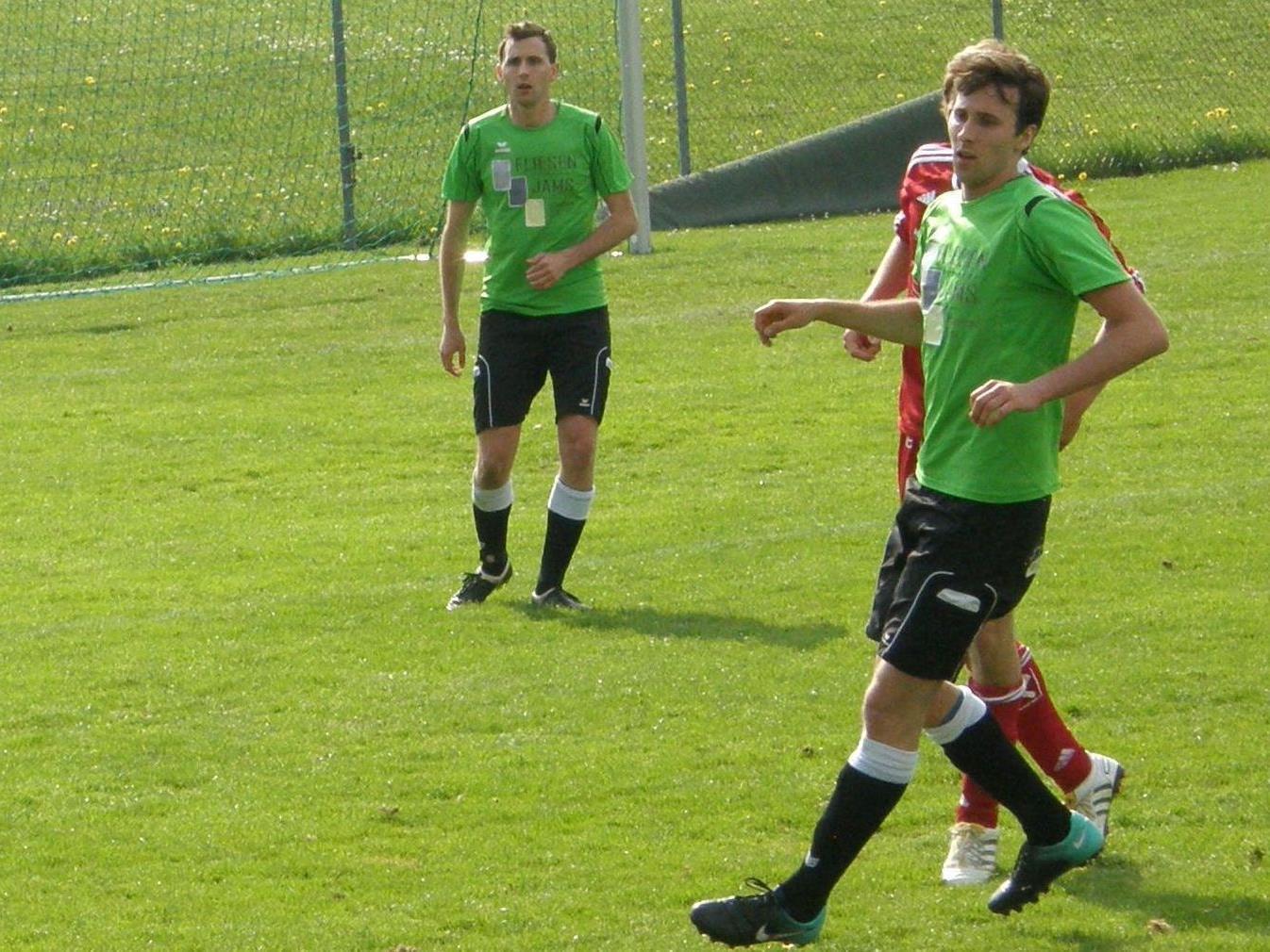 René Depaoli (re.) erzielte seine ersten Meisterschaftstore für den FCS.