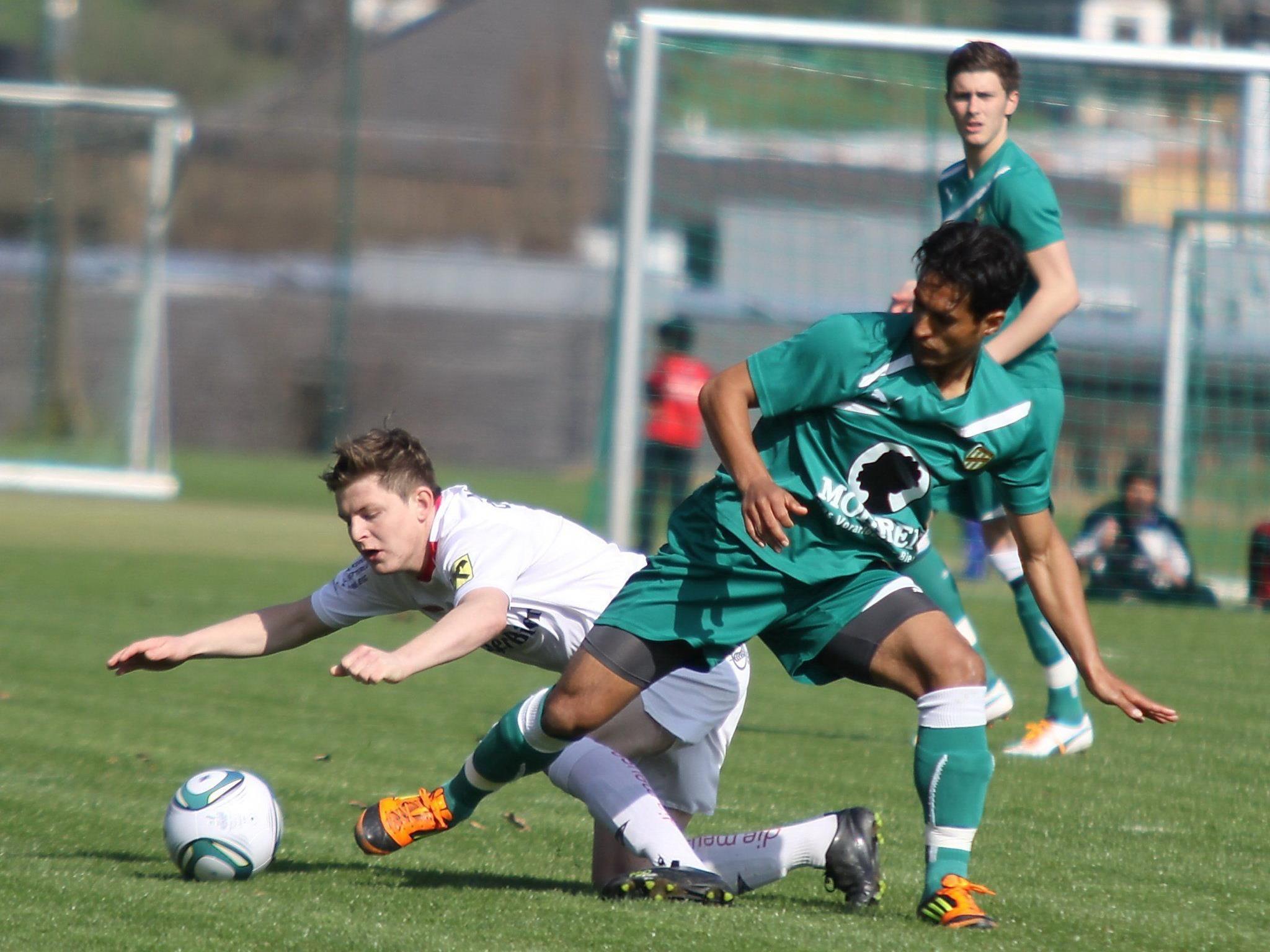 Austria Lustenau-Kicker Sidinei de Oliveira schoss das 3:2.