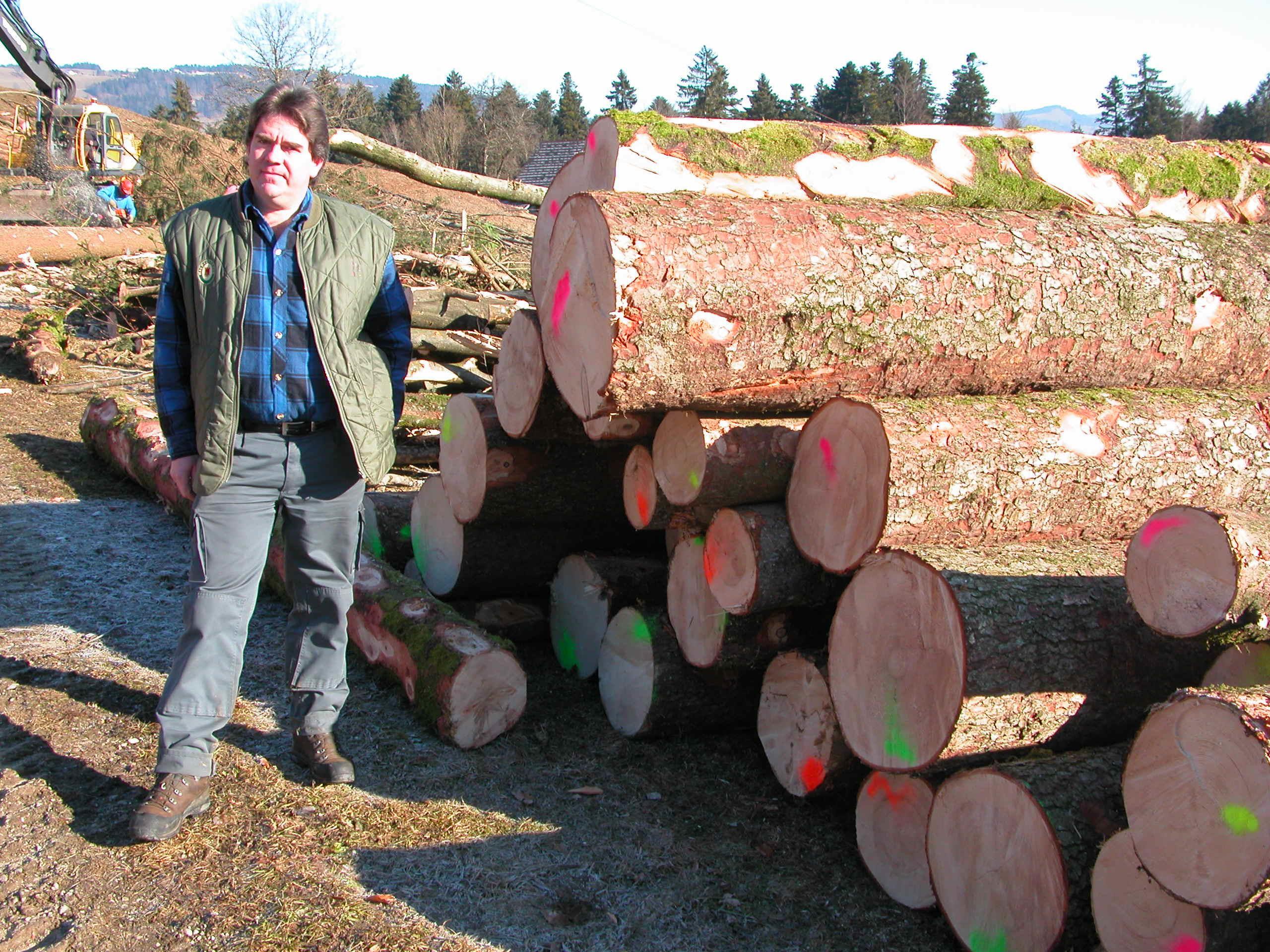 Egon Schelling - Waldaufseher aus Leidenschaft