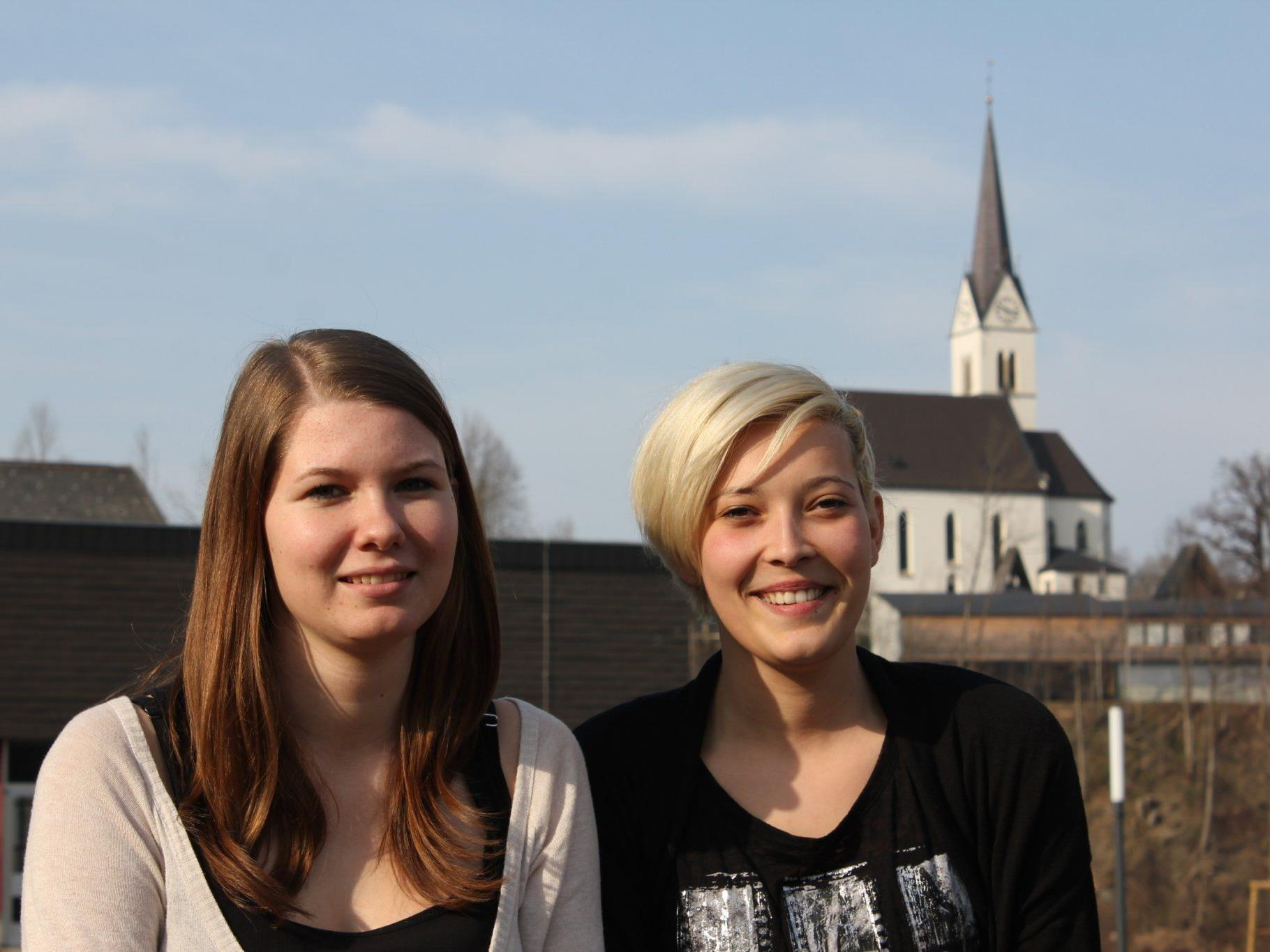 Elena Thomas und Stefanie Österle