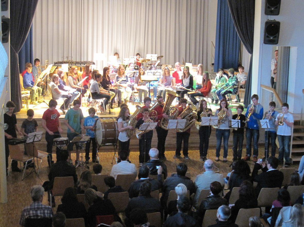Das Konzert im Seezentrum erhielt großen Beifall.