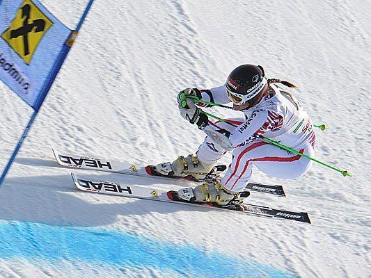 Anna Fenninger ist eine der erfolgreichen Skifahrerinnen, die auf Head setzen.