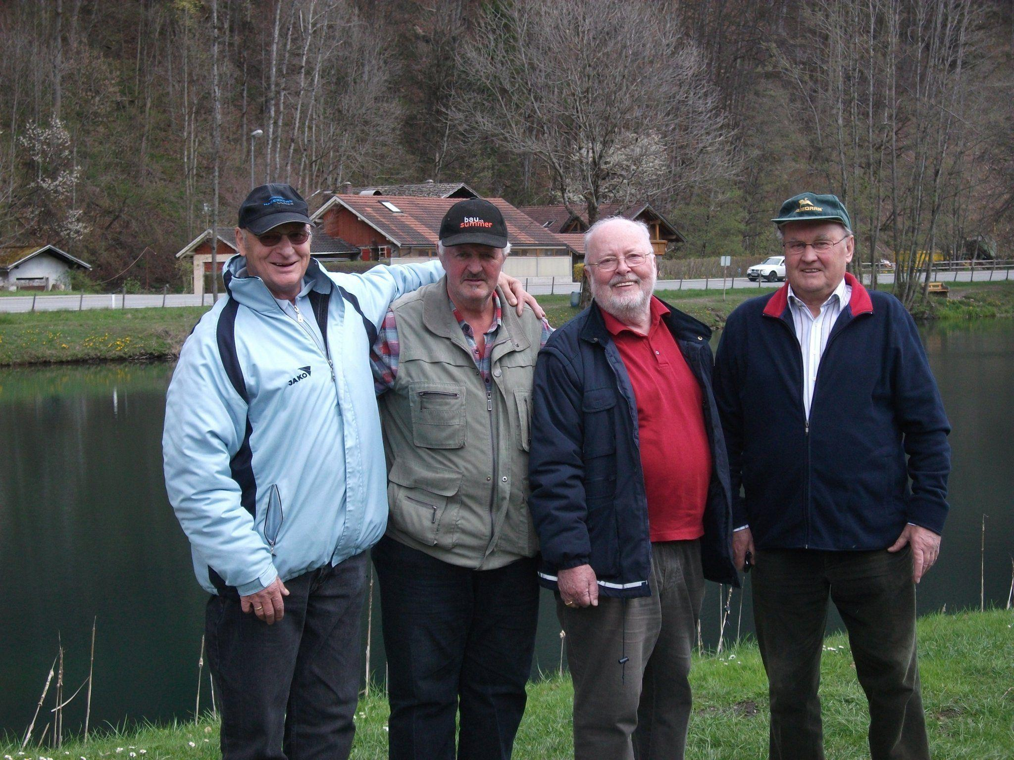 PVÖ-Fischer: Beim Erstausflug wurden Freundschaften geschlossen