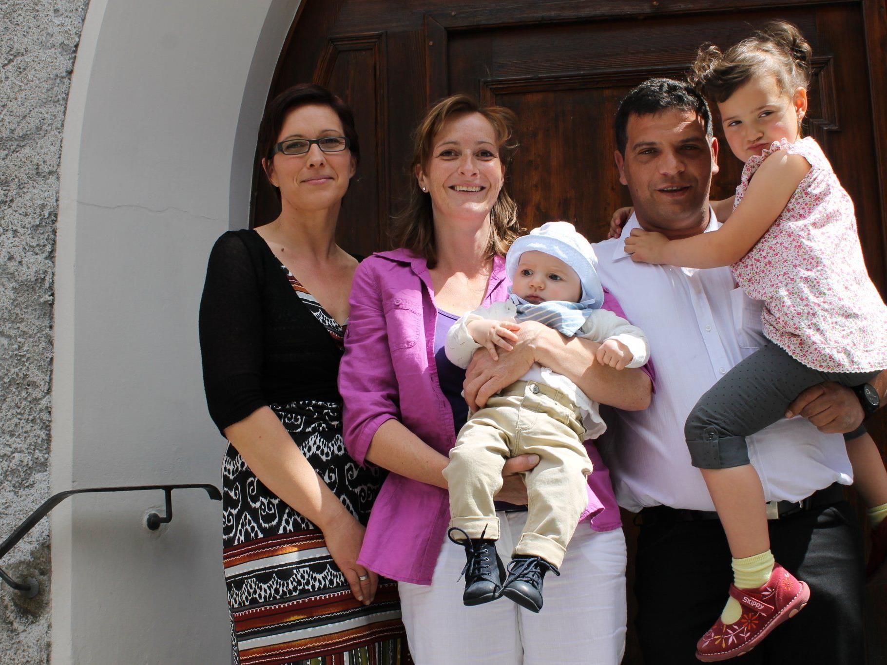 Florian Erlbacher wurde getauft
