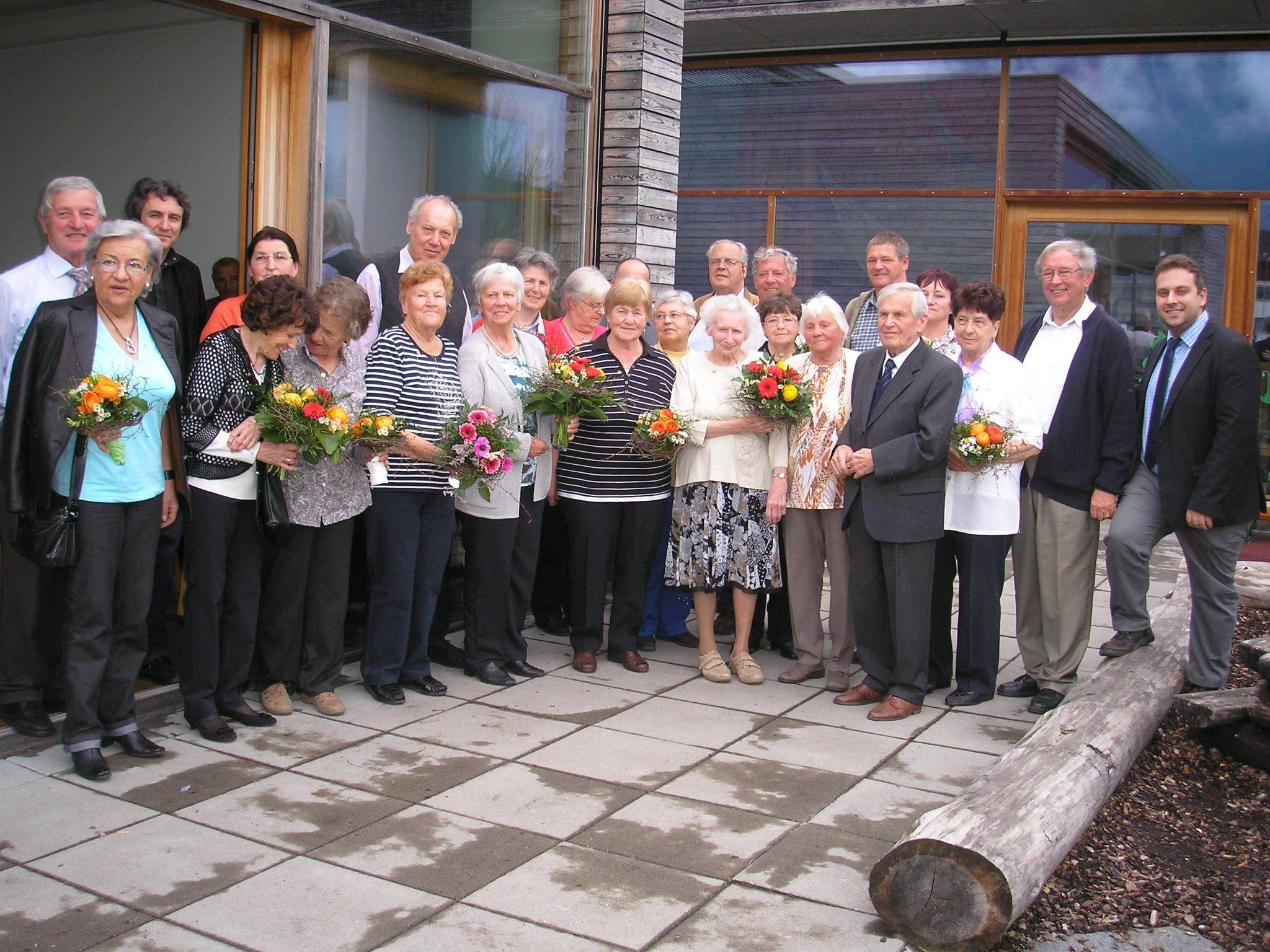 31 Mitglieder aus Bludesch wurden für ihre langjährige Mitgliedschaft geehrt.