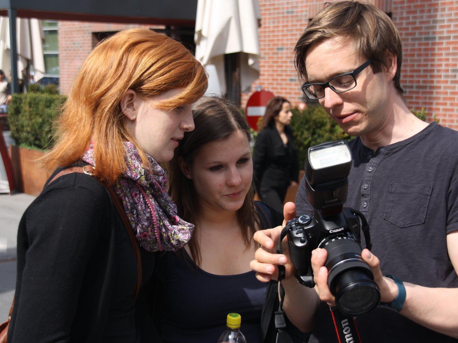 Fotoworkshop der Medienwerkstatt begeisterte die Jugendlichen.