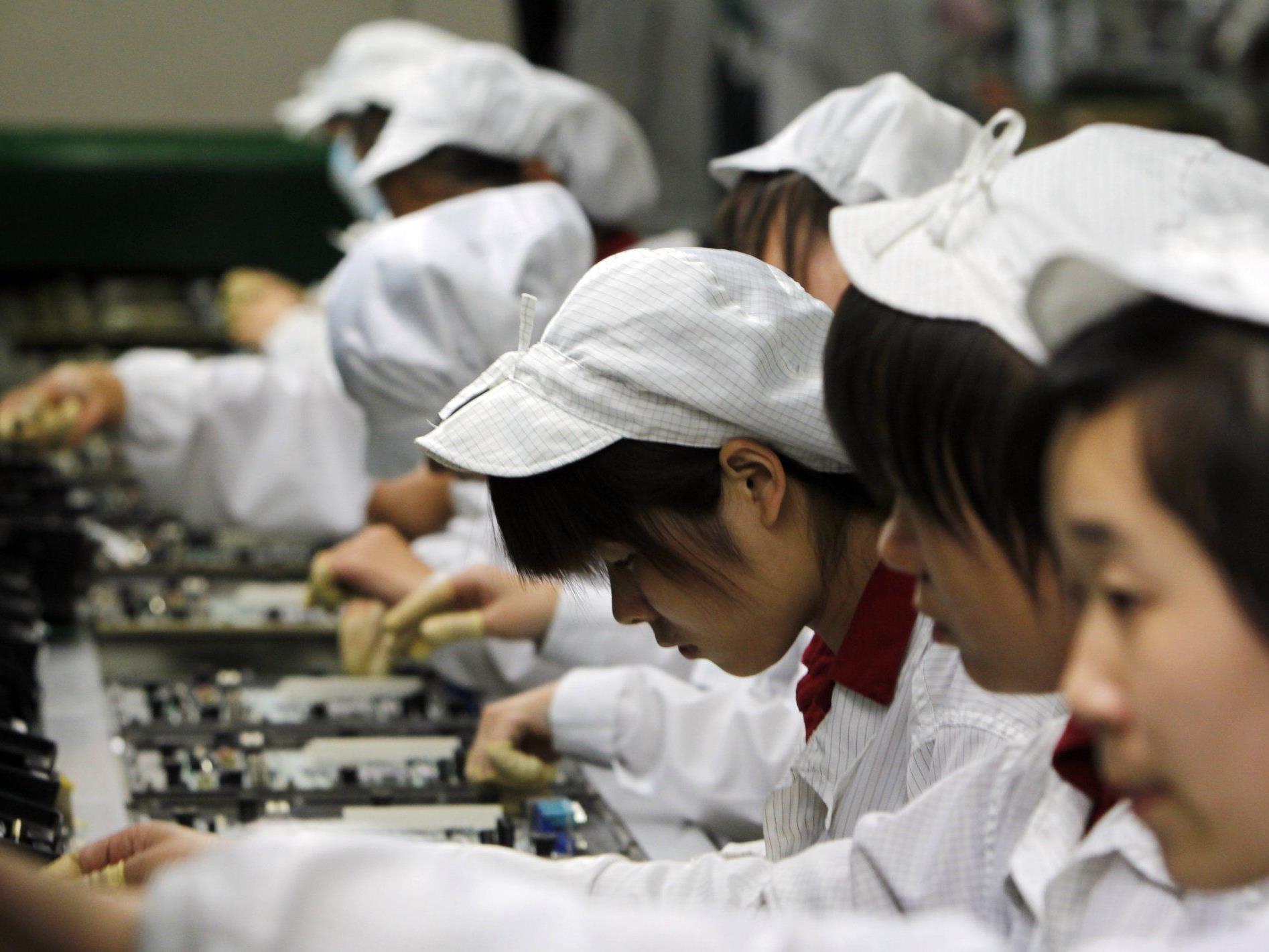 Foxconn produziert in China für Apple auch das iPhone 5.