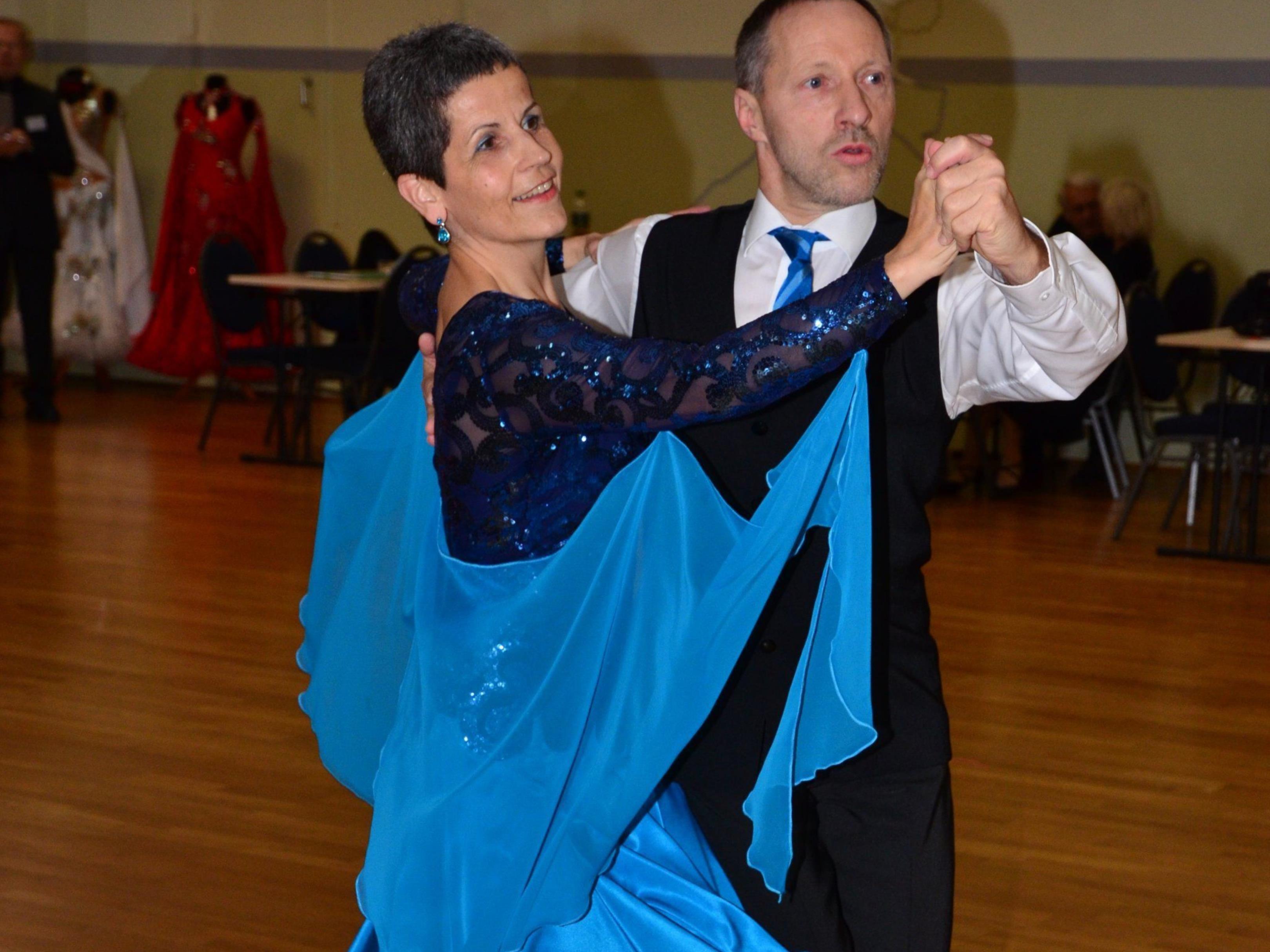 Barbara und Eugen Kathan bewiesen eine gute Kondition