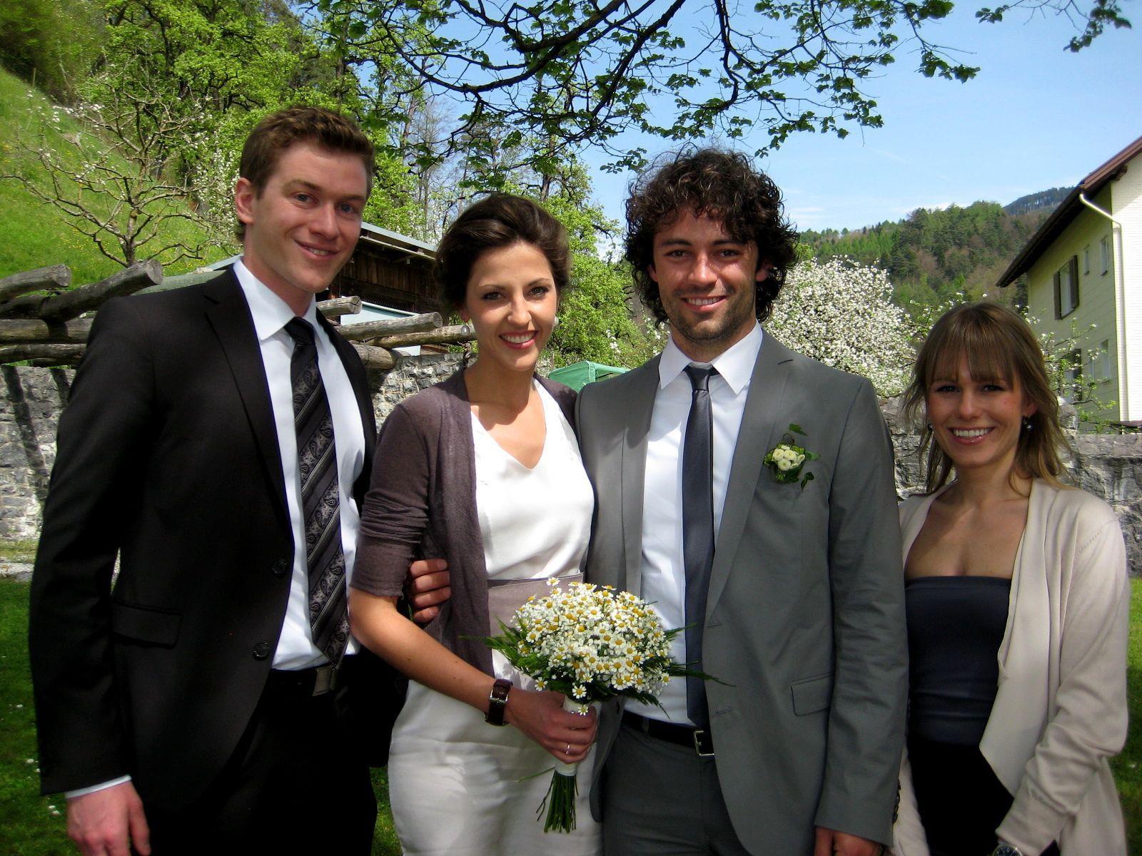 Nadja Maccani und Martin Frontull haben geheiratet.