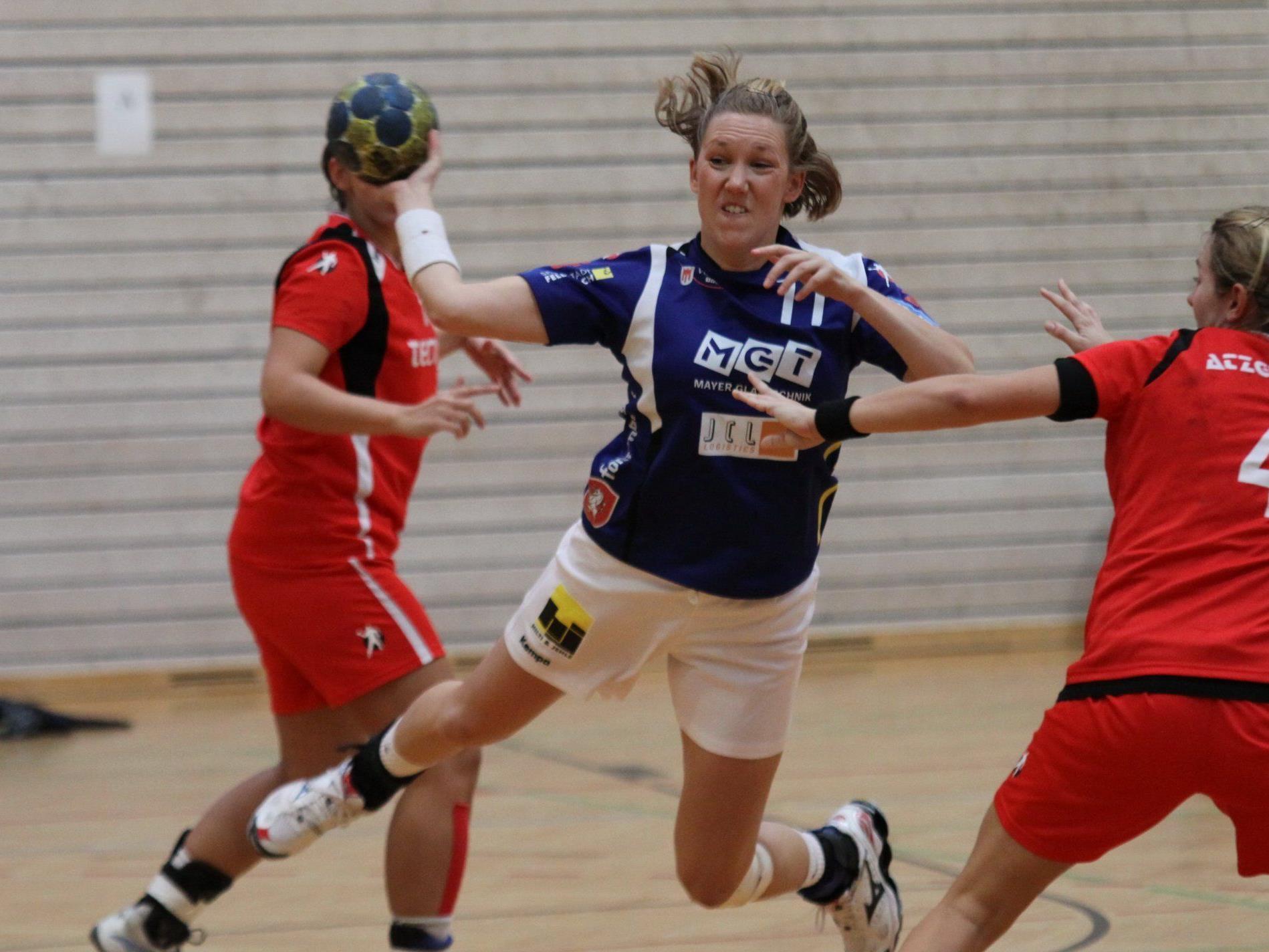 Heidi Holmberg und Cie. wollen gegen Korneuburg gewinnen und die rote Laterne abgeben.