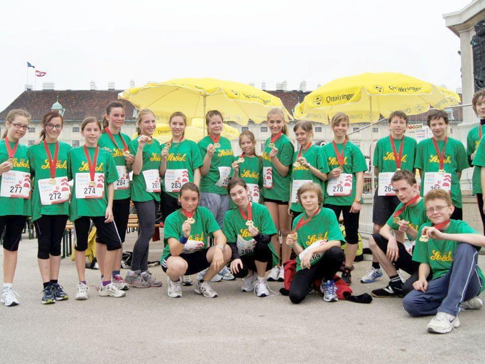 Die Schülerinnen und Schüler aus Hard waren in Wien wieder besonders erfolgreich.
