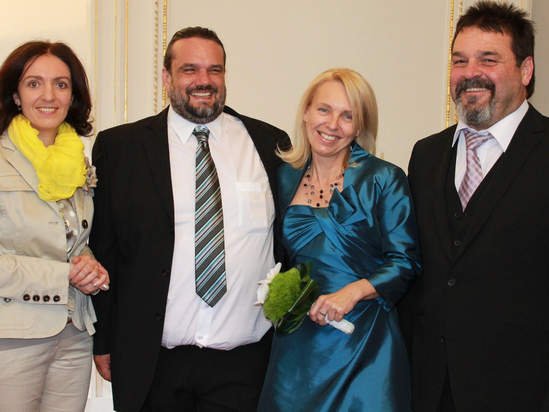Claudia Sartorius und Roland Dietrich haben geheiratet