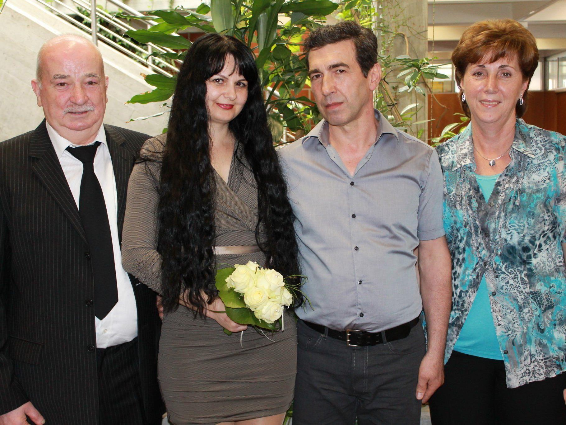 Ljubinka Stojanovic und Jadranko Vukomanovic haben geheiratet
