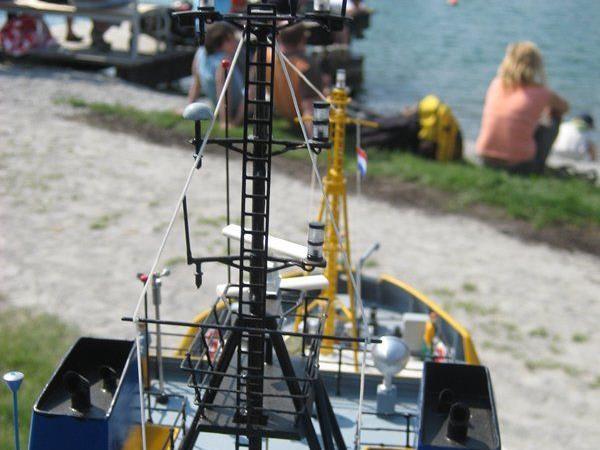 Schiffsmodelle in der Felsenau