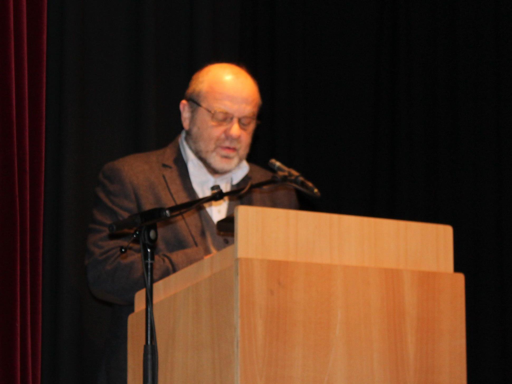 Univ. Doz. Helmut Alexander referierte über die Kirche im 20. jahrhundert in Bludenz